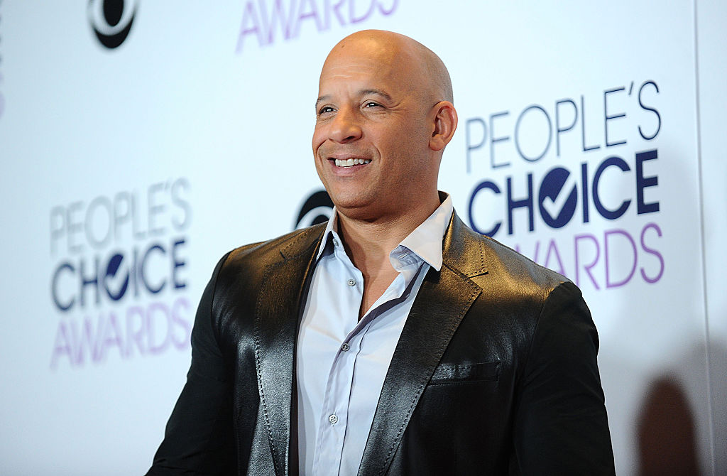 Vin Diesel at the 2016 People's Choice Awards on January 6, 2016 in Los Angeles, California.