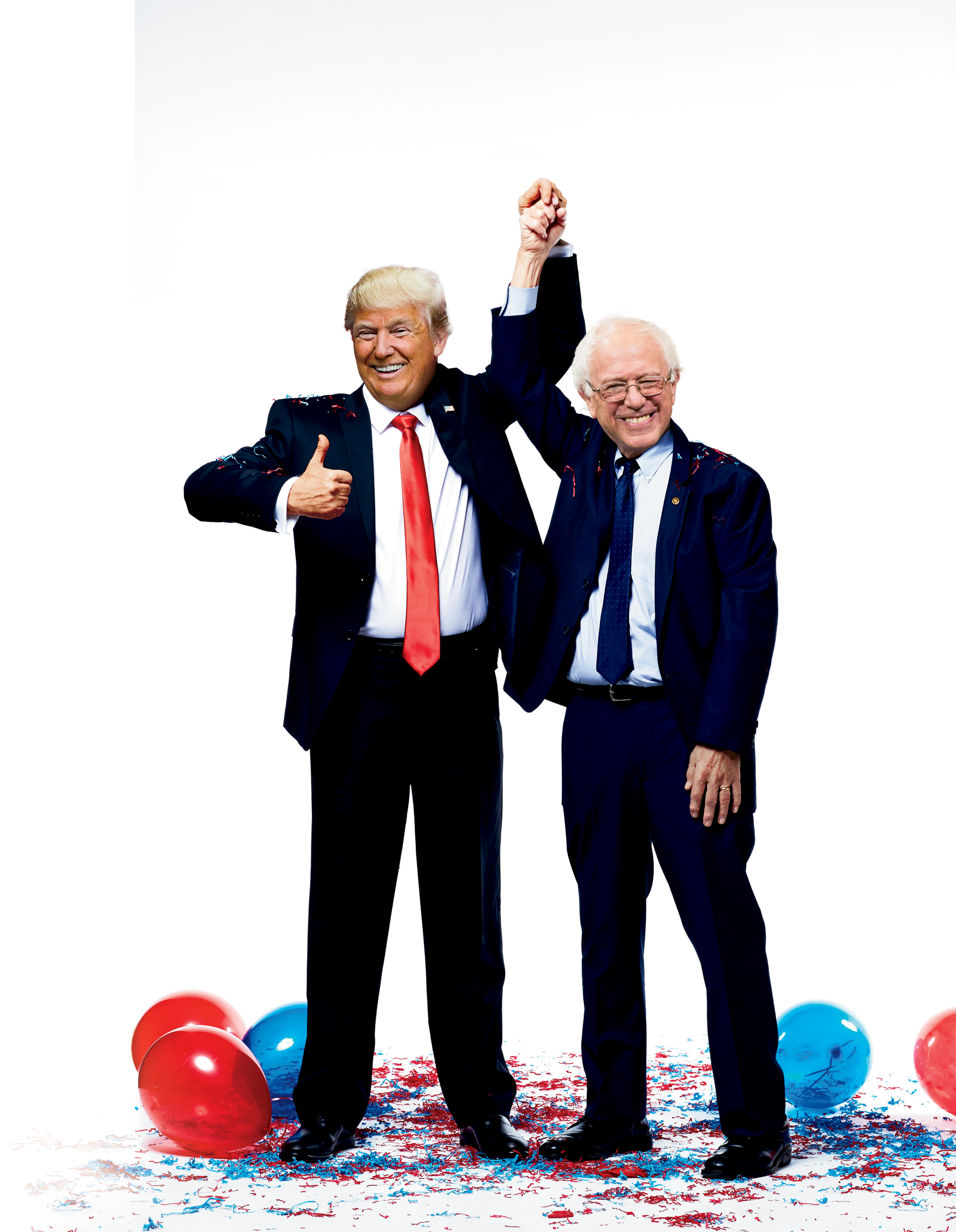 The Trump and Sanders show: Why two outsiders are winning