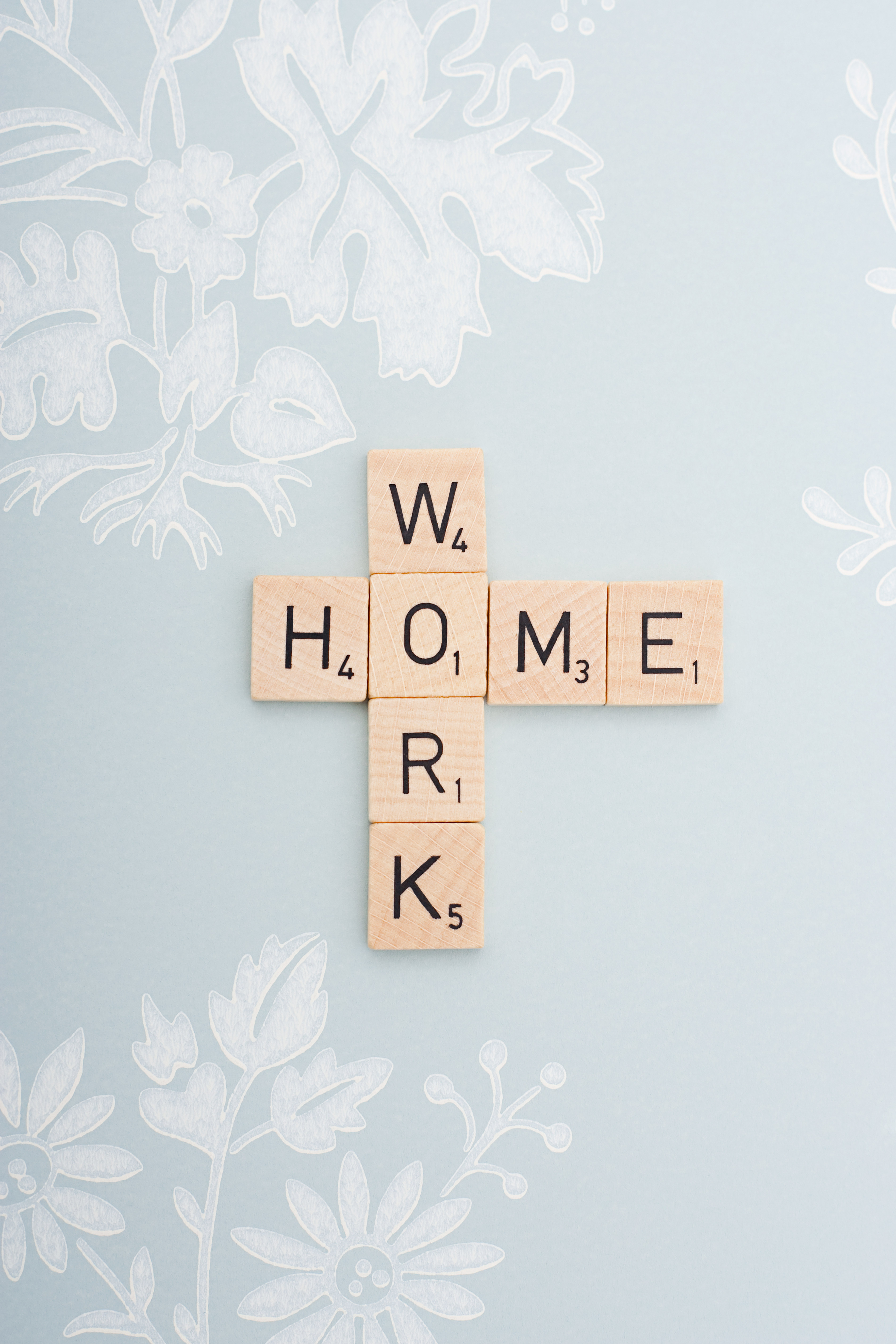 Game tiles spelling work and home