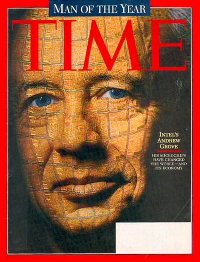 The cover of TIME Magazine, Dec. 29, 1997