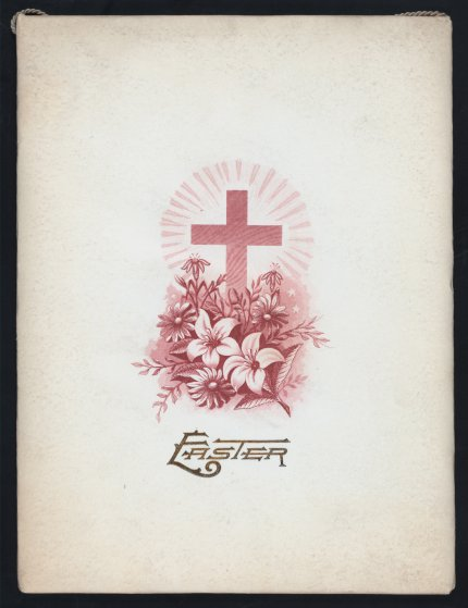 Easter dinner held at the Hawk & Wetherbee at The Windsor in New York, NY. 1893. From the Buttolph collection of menus.