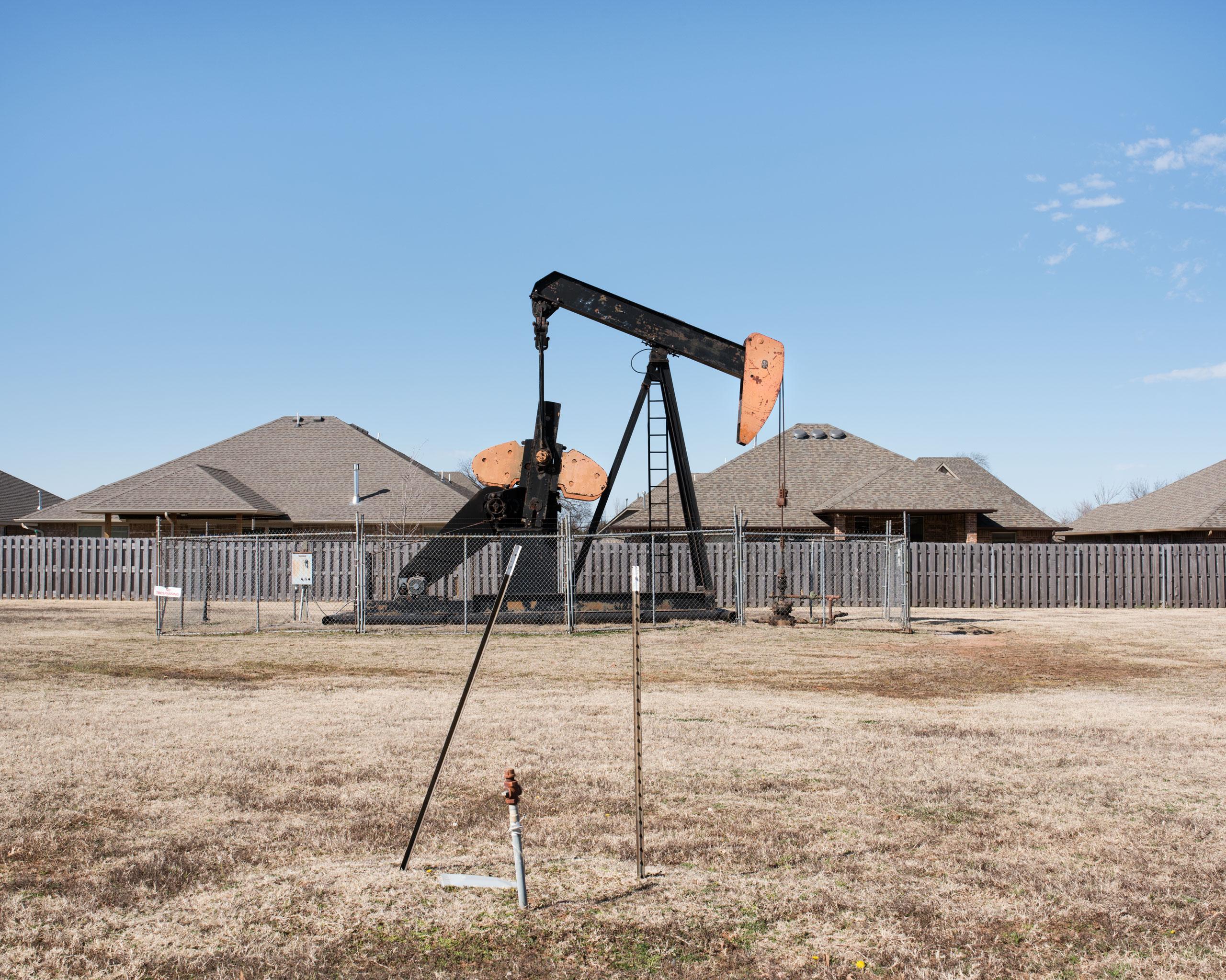 An oil pumpjack, Edmond, OK