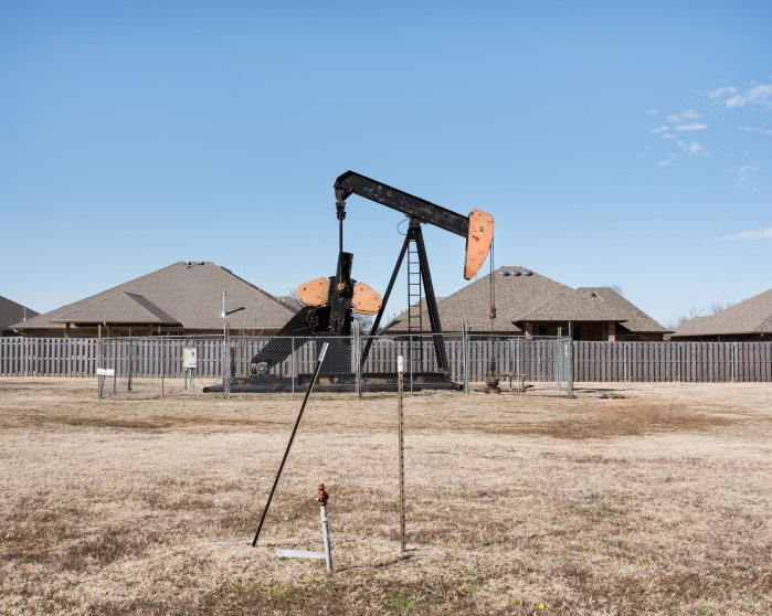 An oil pumpjack, Edmond, OK