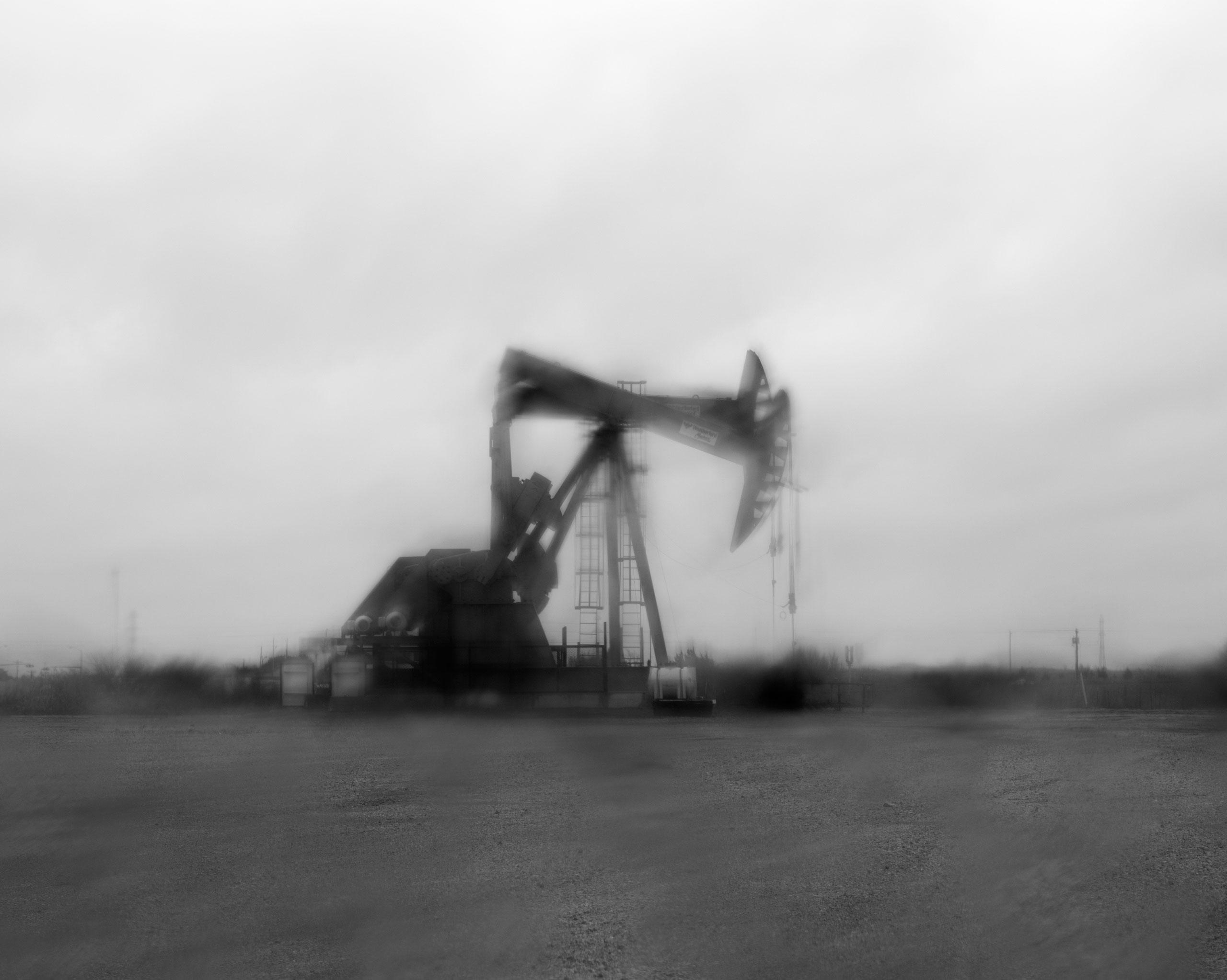 An oil pumpjack, Crescent, OK
