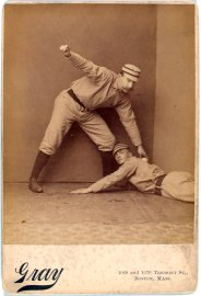 Vintage baseball photographs from the A.G. Spalding Baseball Collection
