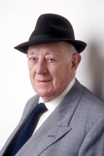 Sir Alec Guinness on the Radio 4 programme 'My Name Escapes Me : Sir Alec Guinnes', Sept 1996. Jeff Overs—BBC News & Current Affairs via Getty Images