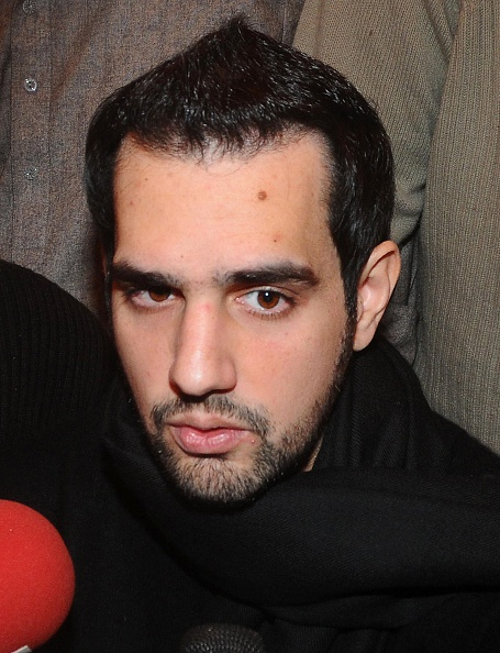 This photograph taken on January 5, 2011, shows Shahbaz Taseer, son of assassinated governor of Pakistan's Punjab province Salman Taseer, speaking with media during his father's funeral in Lahore.
