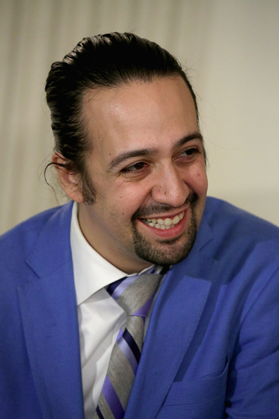 Lin-Manuel Miranda, creator and star of the Broadway musical HAMILTON, participates in a student workshop at the White House March 14, 2016 in Washington, DC. Chip Somodevilla—Getty Images