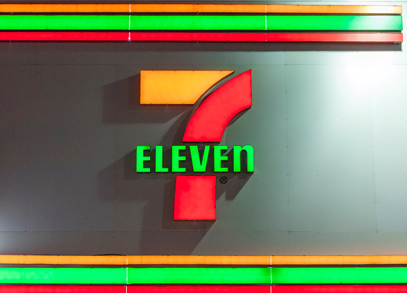 7-Eleven convenience store signage
