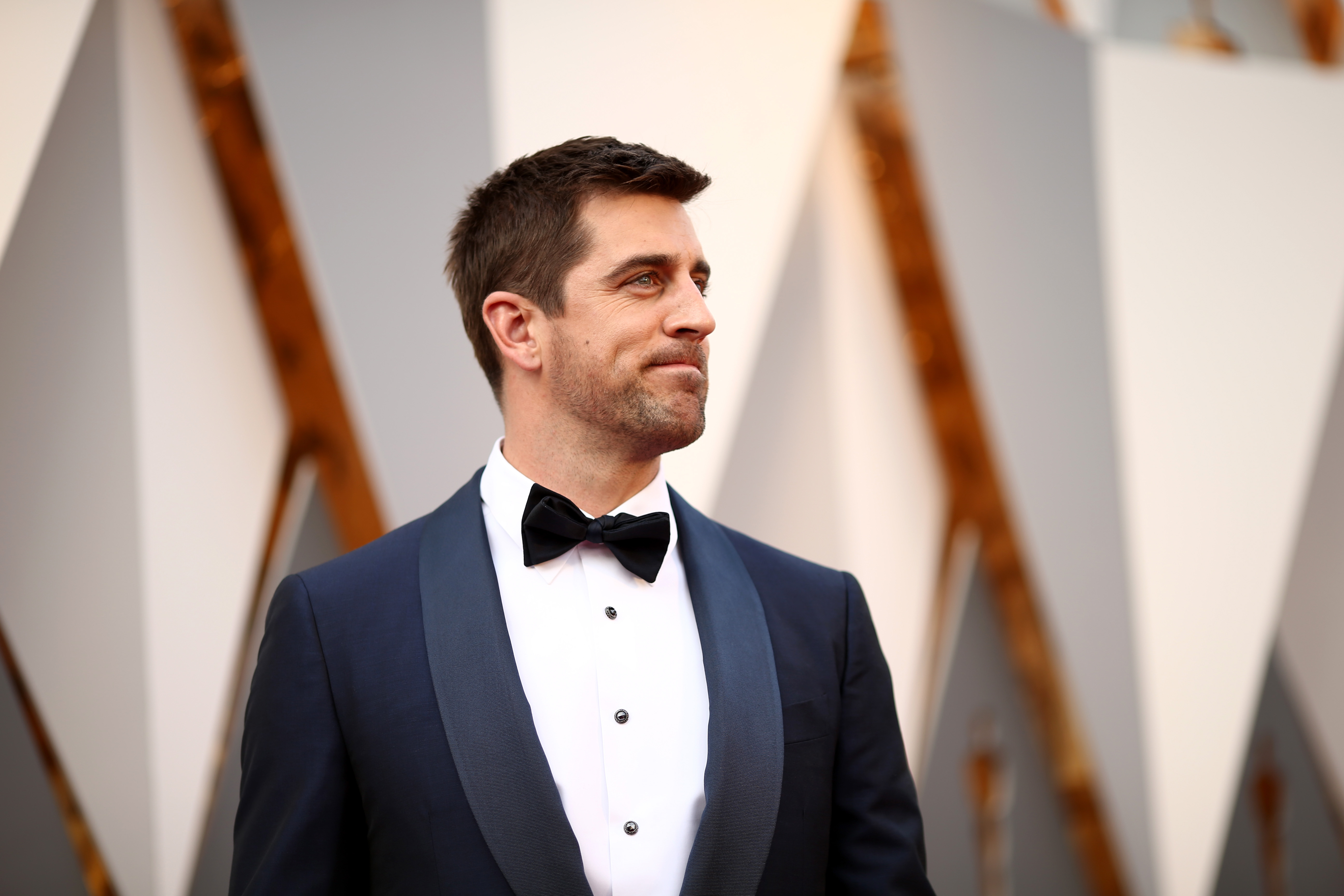 Rodgers at the Academy Awards Ceremony this year.