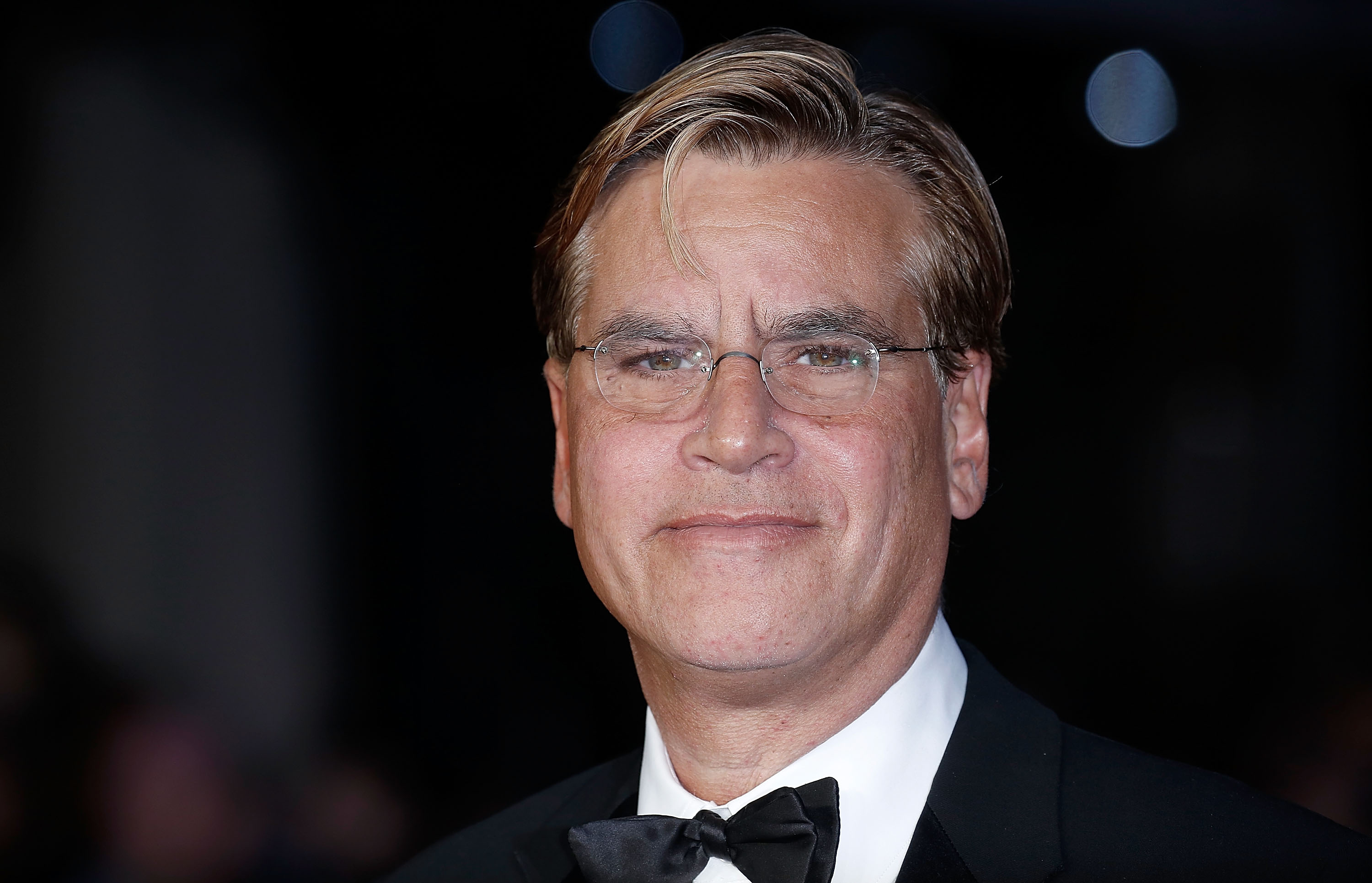 Aaron Sorkin attends the  Steve Jobs  Closing Night Gala during the BFI London Film Festival on October 18, 2015 in London, England.