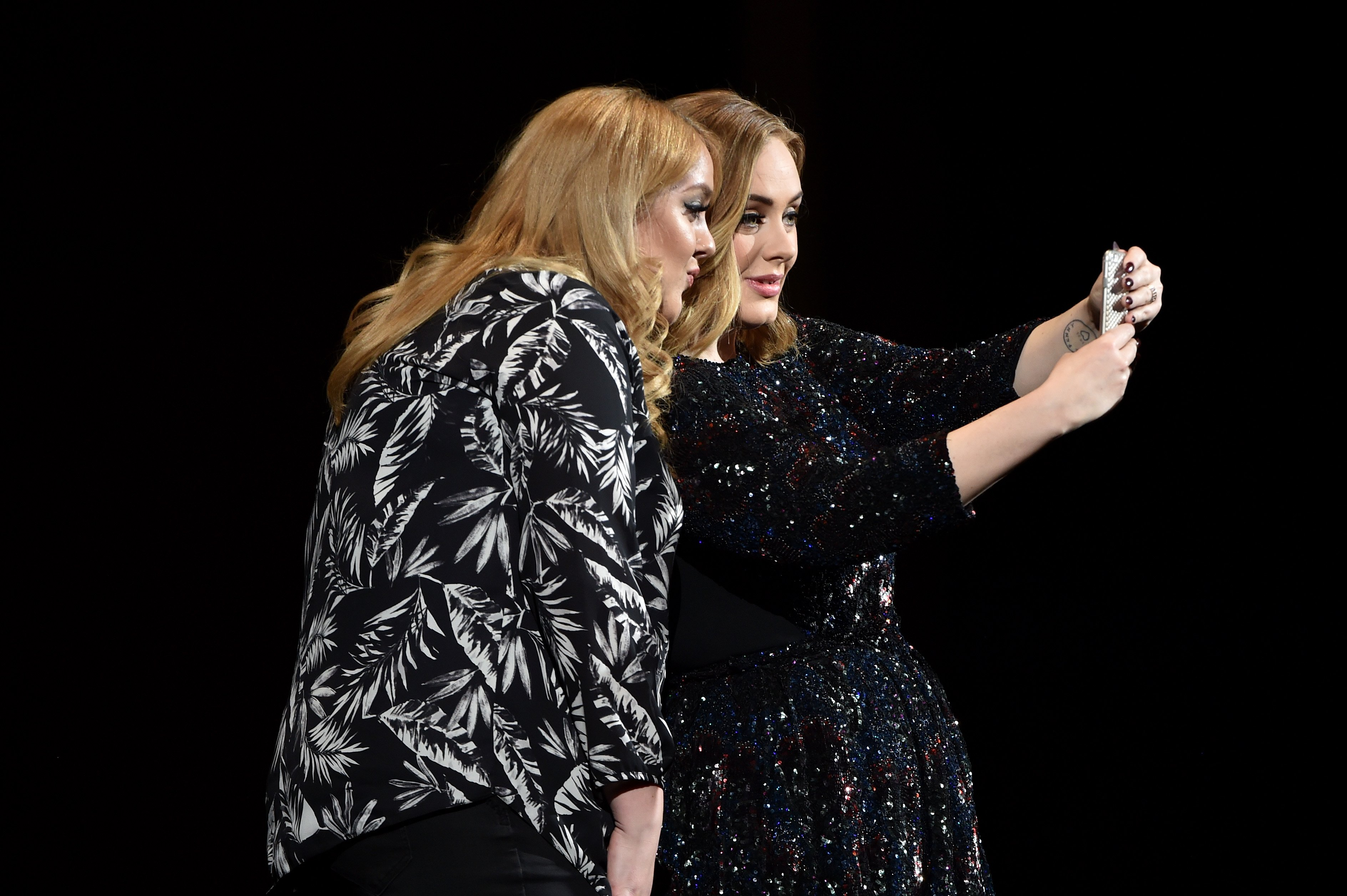 Adele performs at Genting Arena on March 29, 2016 in Birmingham, England.