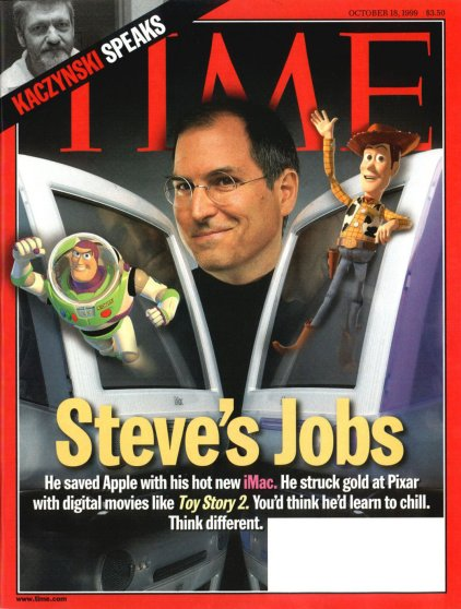 The Oct. 18, 1999 cover of TIME