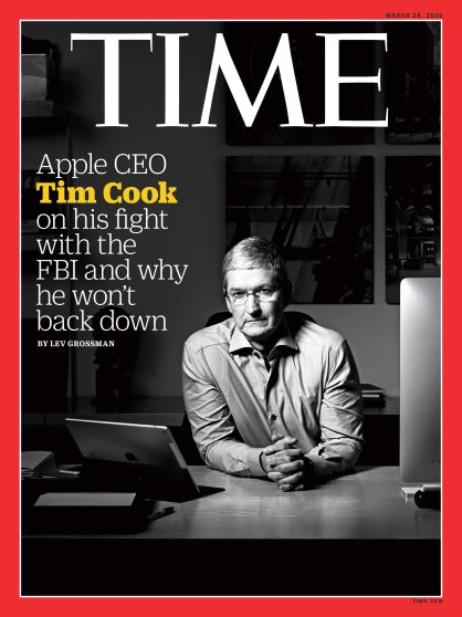 Apple Tim Cook Time Magazine Cover