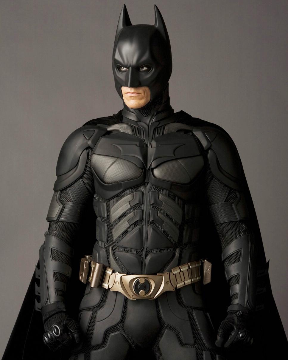 Christian Bale in The Dark Knight in 2008.