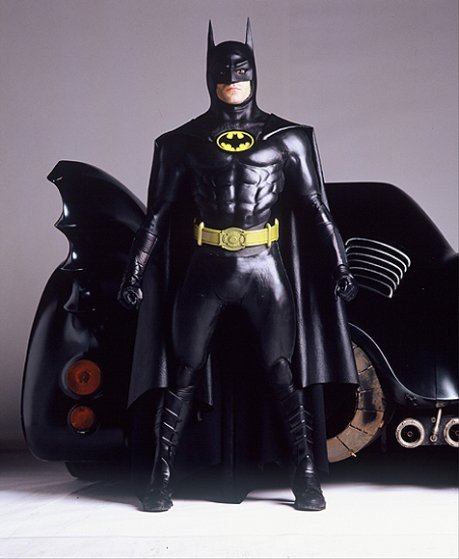 Michael Keaton in Batman in 1989.