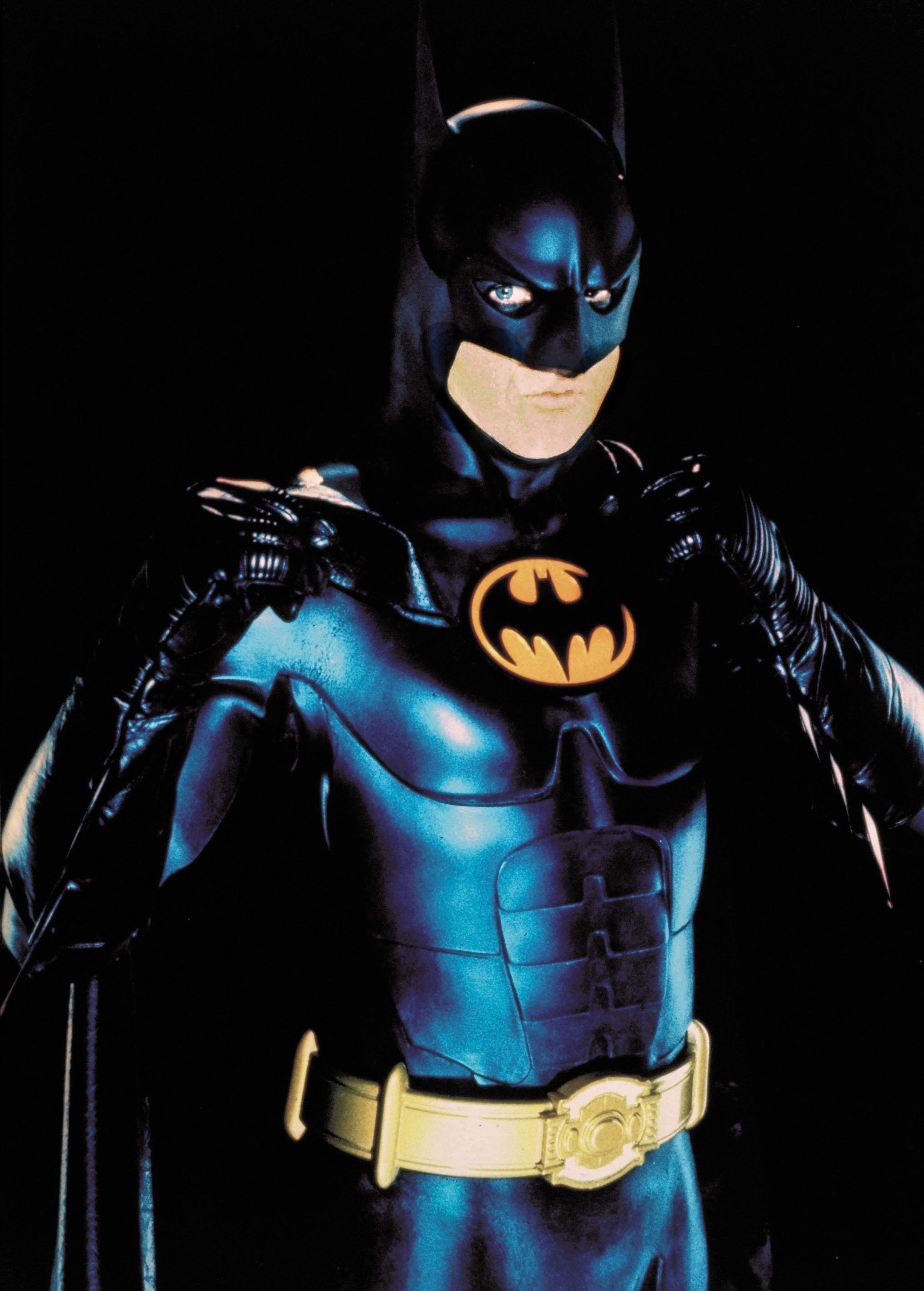 Michael Keaton in Batman Returns in 1992.