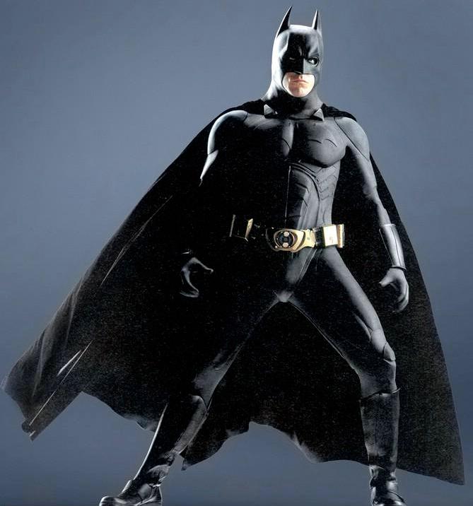 Christian Bale in Batman Begins in 2005.