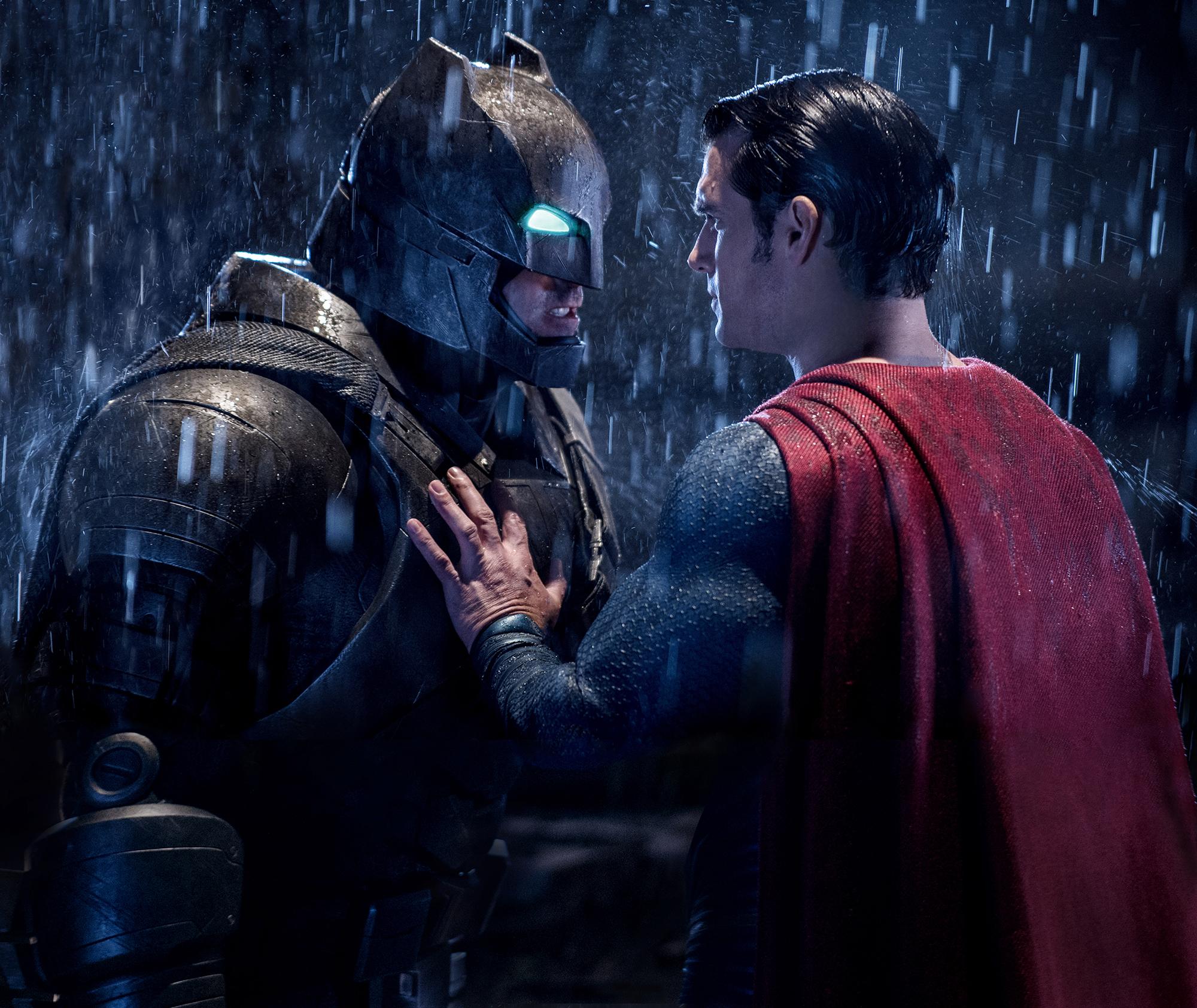 Ben Affleck in Batman v Superman: Dawn of Justice in 2016.