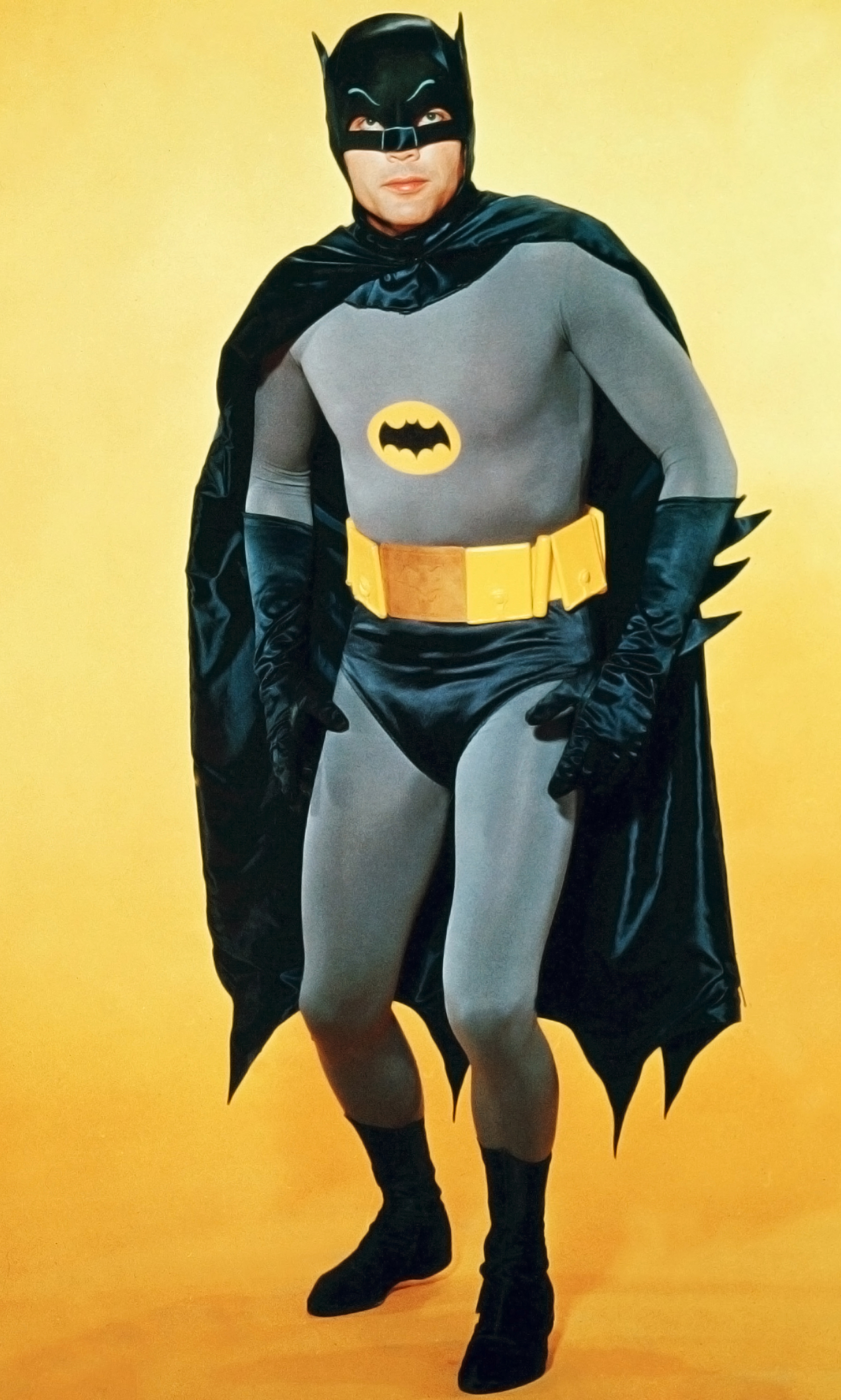 Adam West in the television series Batman in 1966.