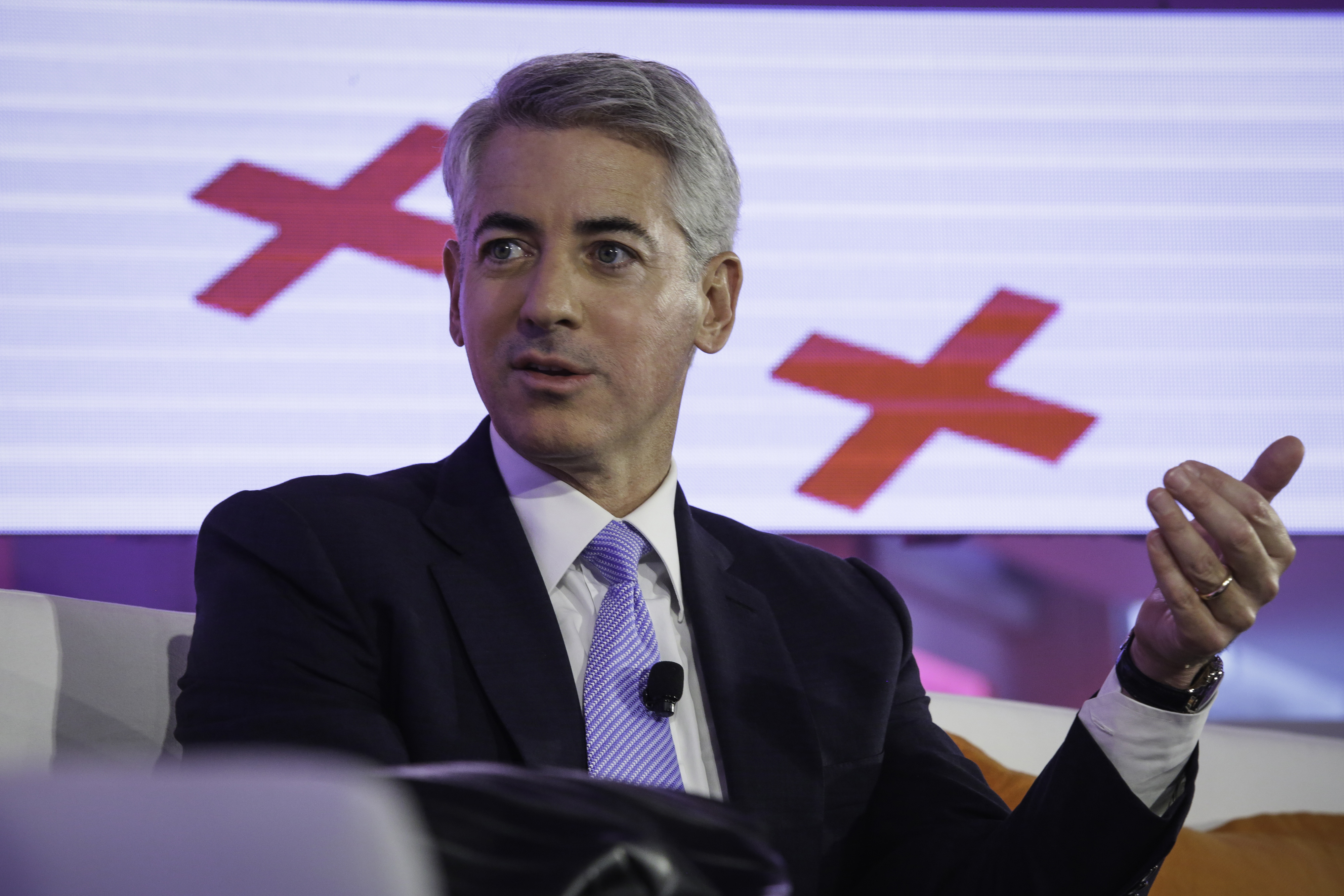 William  Bill  Ackman, founder and chief executive officer of Pershing Square Capital Management LP, speaks at the Bloomberg Markets Most Influential Summit 2015 in New York, U.S., on Tuesday, Oct. 6, 2015.