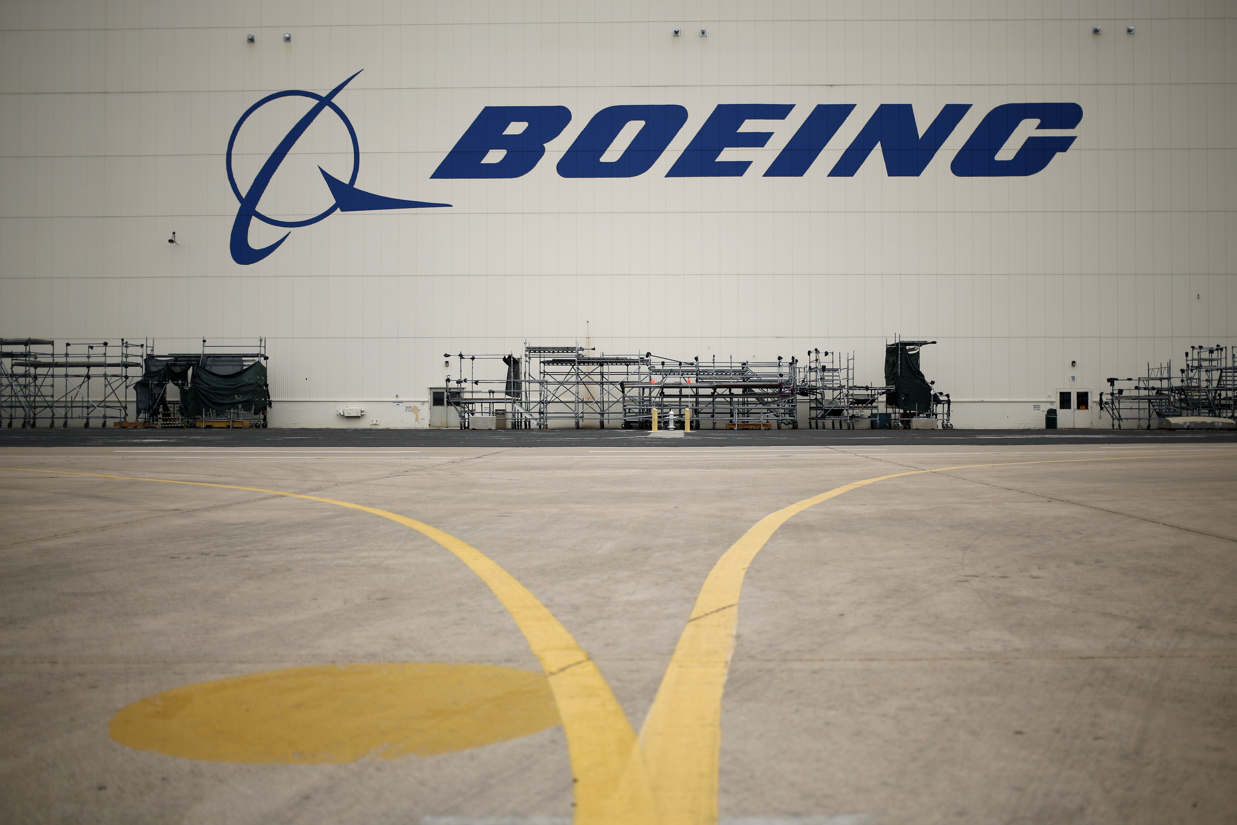 The Boeing Global Services and Support facility in San Antonio, Texas.