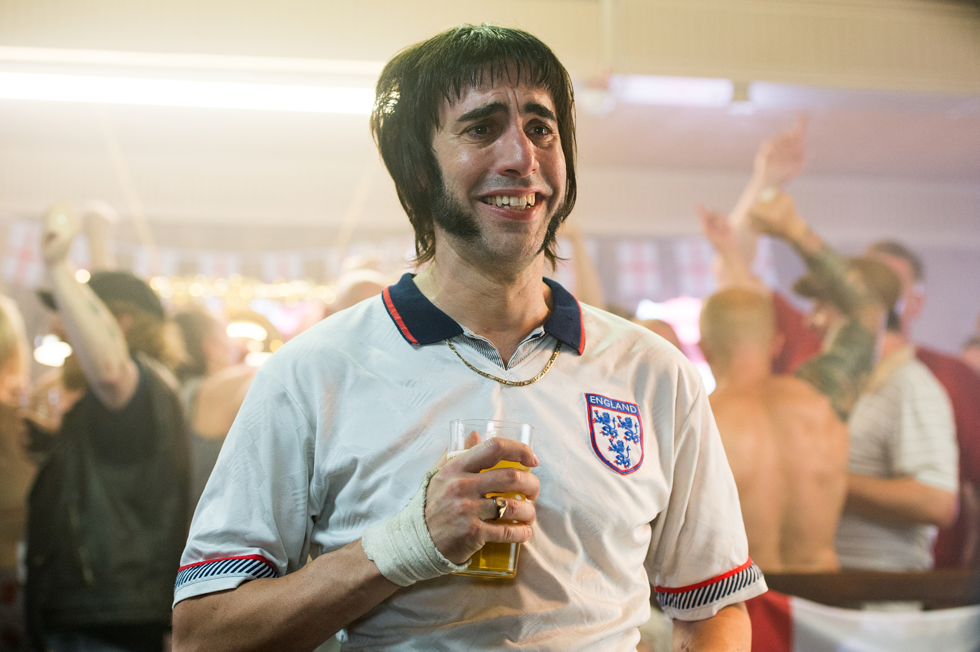 Sacha Baron Cohen in The Brothers Grimsby.