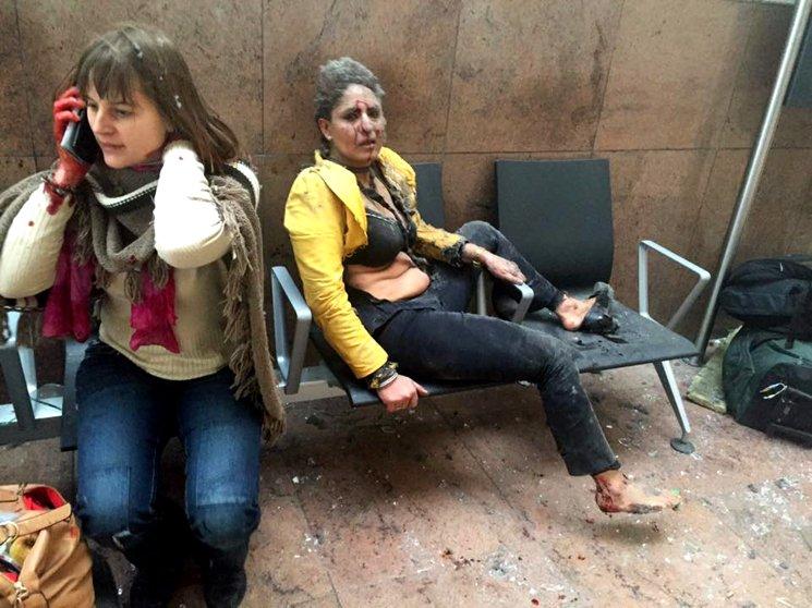 Belgium Airport Brussels Terror Attacks Bombings