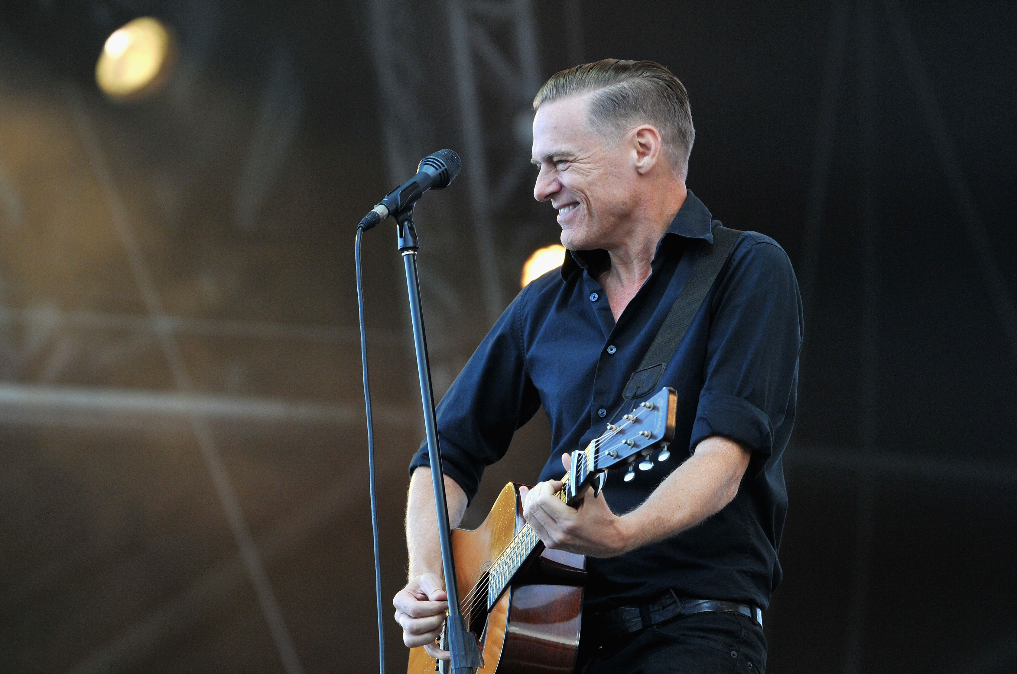 Bryan Adams performs in London, on Sept. 14, 2014.