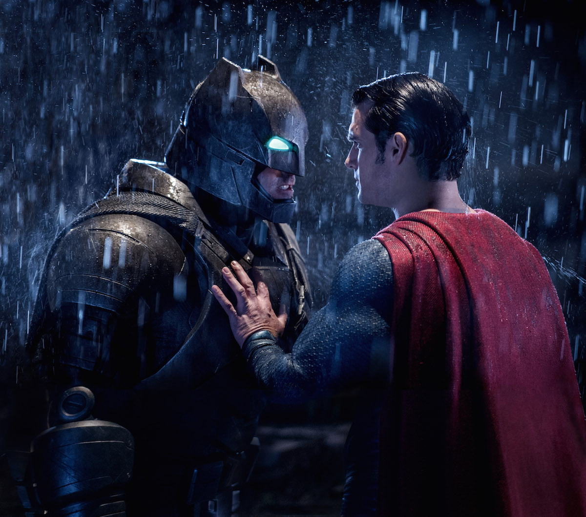 A scene from Batman v Superman: Dawn Of Justice