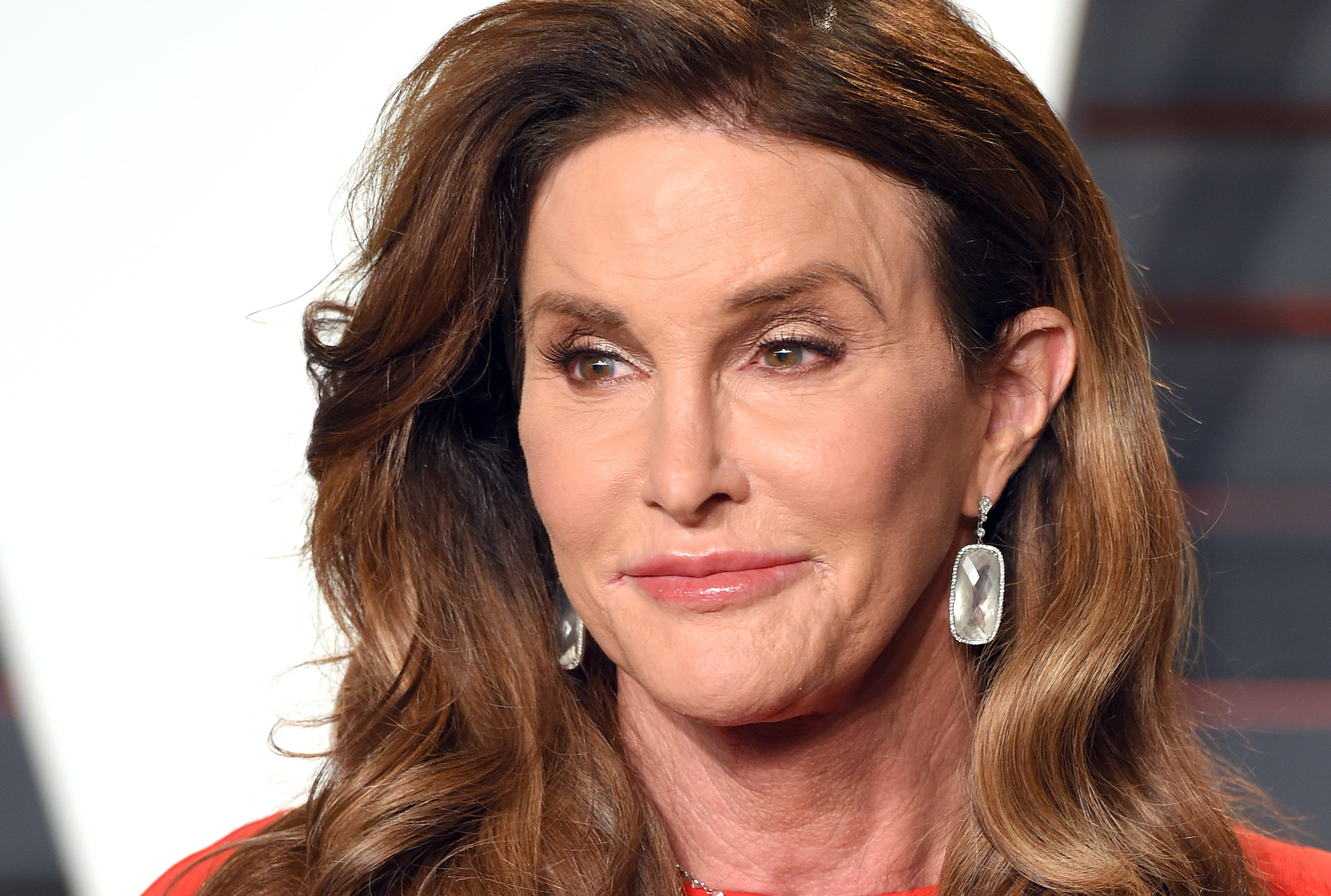 Caitlyn Jenner attends the 2016 Vanity Fair Oscar party on Feb. 28, in Beverly Hills, Calif.
