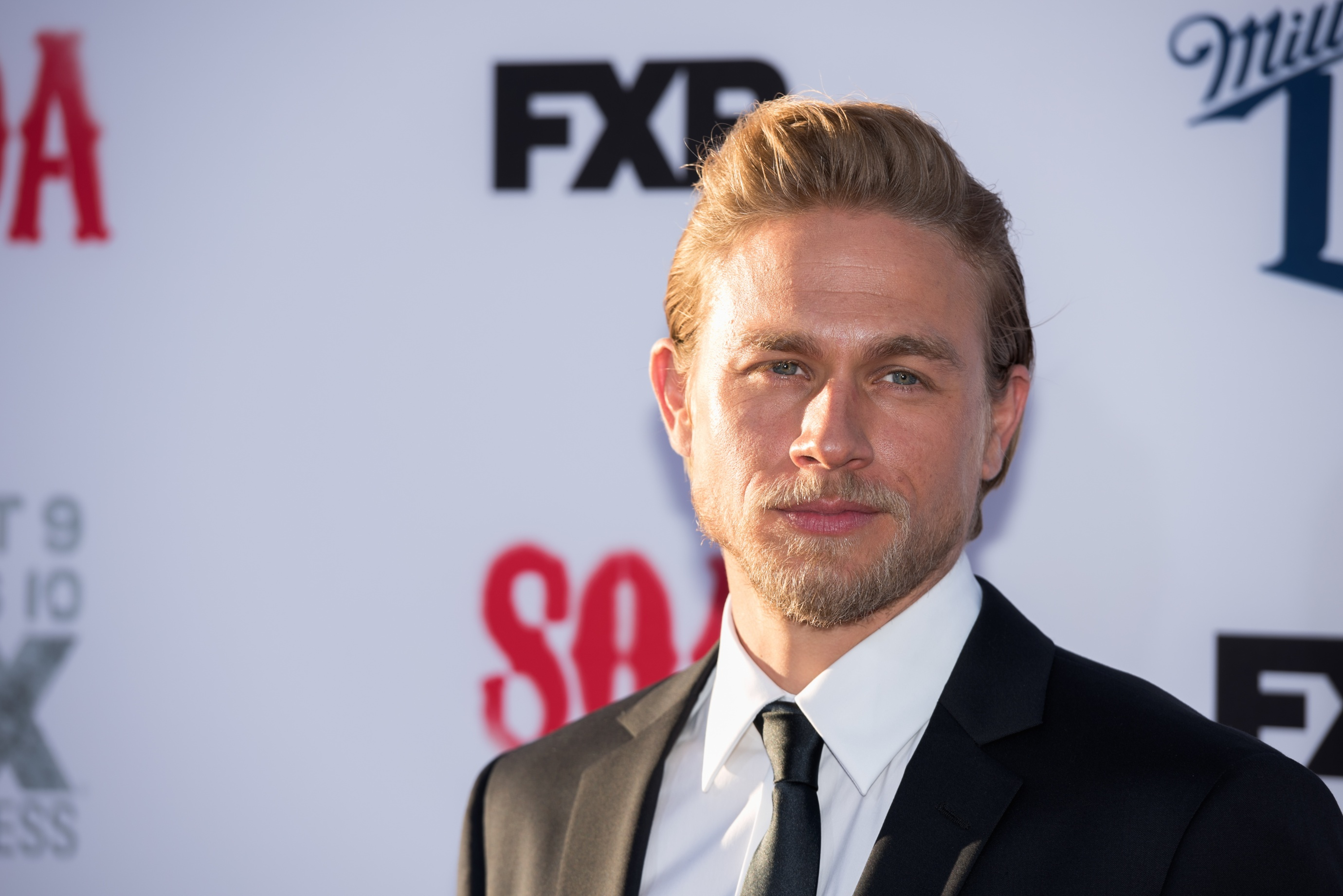 Actor Charlie Hunnam who plays Jackson 'Jax' Teller attends FX's  Sons Of Anarchy  Premiere at TCL Chinese Theatre on September 6, 2014 in Hollywood, California.