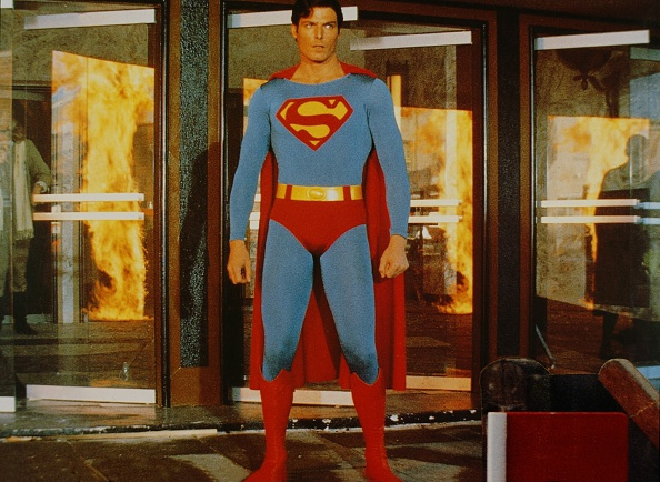 Christopher Reeve in 1978's  Superman