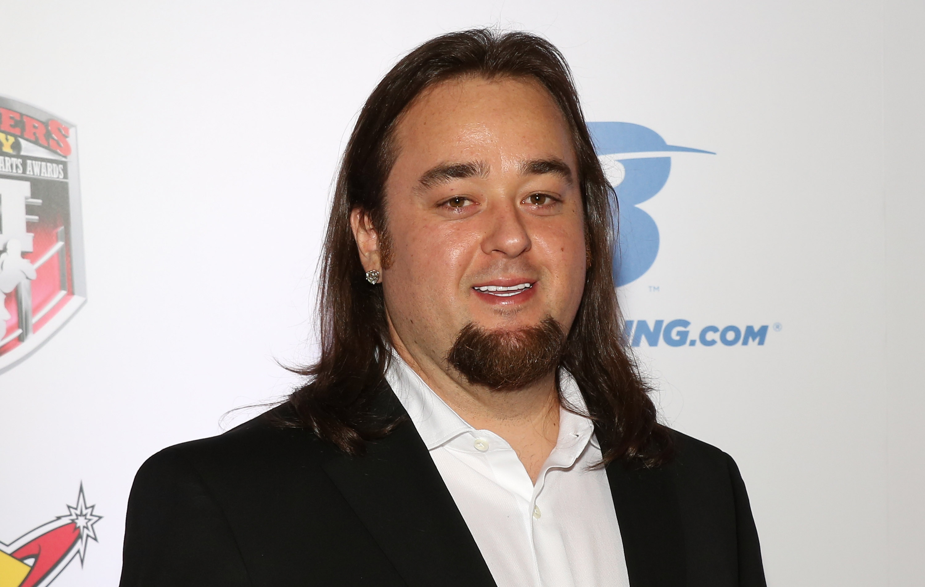 Austin  Chumlee  Russell from History's  Pawn Stars  television series arrives at the sixth annual Fighters Only World Mixed Martial Arts Awards in Las Vegas on Feb. 7, 2014 in Las Vegas, Nevada