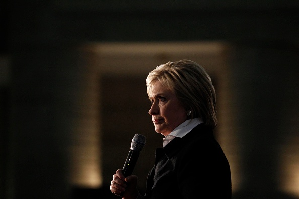 Democratic Presidential Candidate Hillary Clinton speaks at the Charles H. Wright Museum of African American History in Detroit on March 7, 2016.