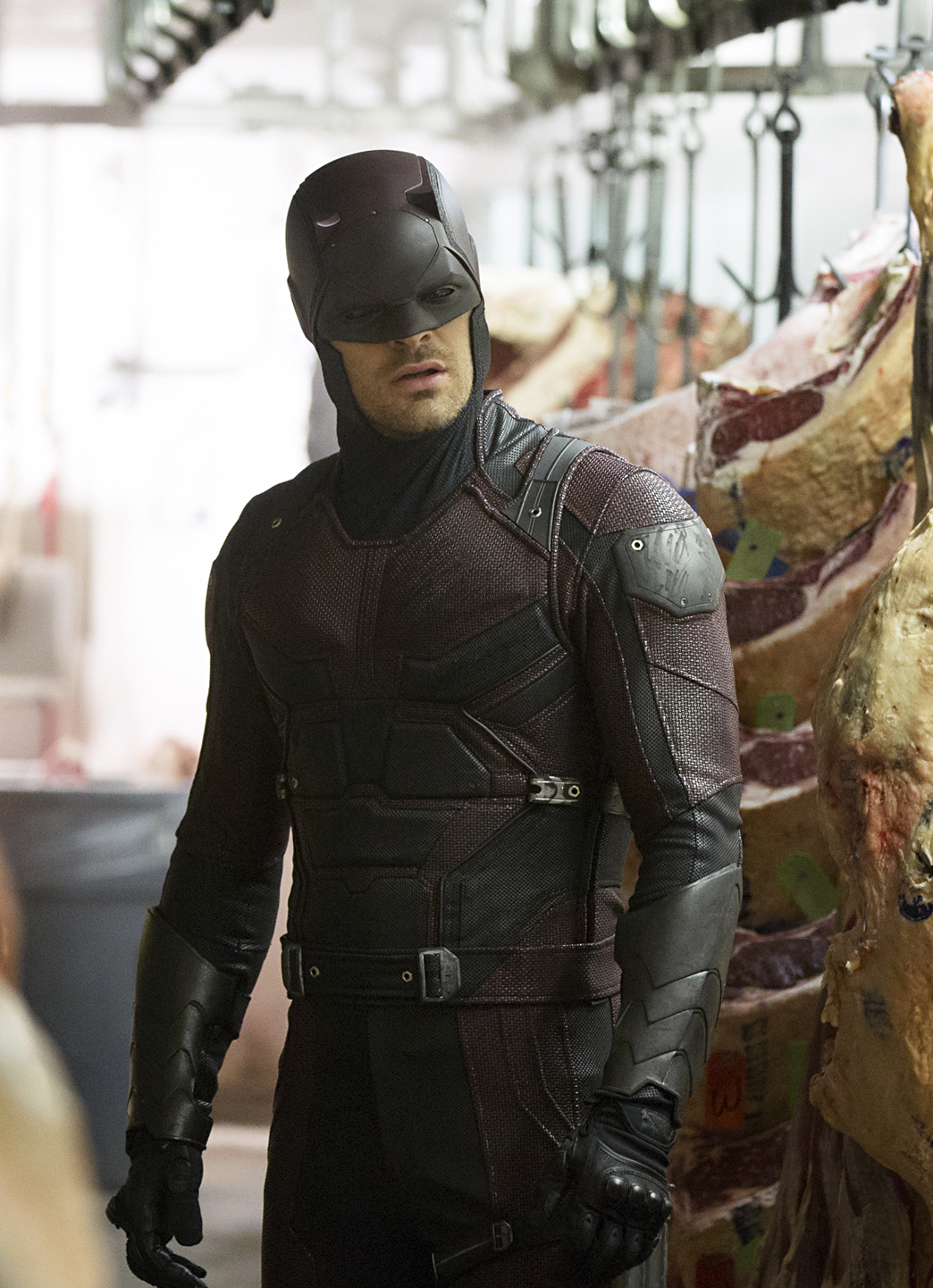 Charlie Cox in Marvel's  Daredevil.
