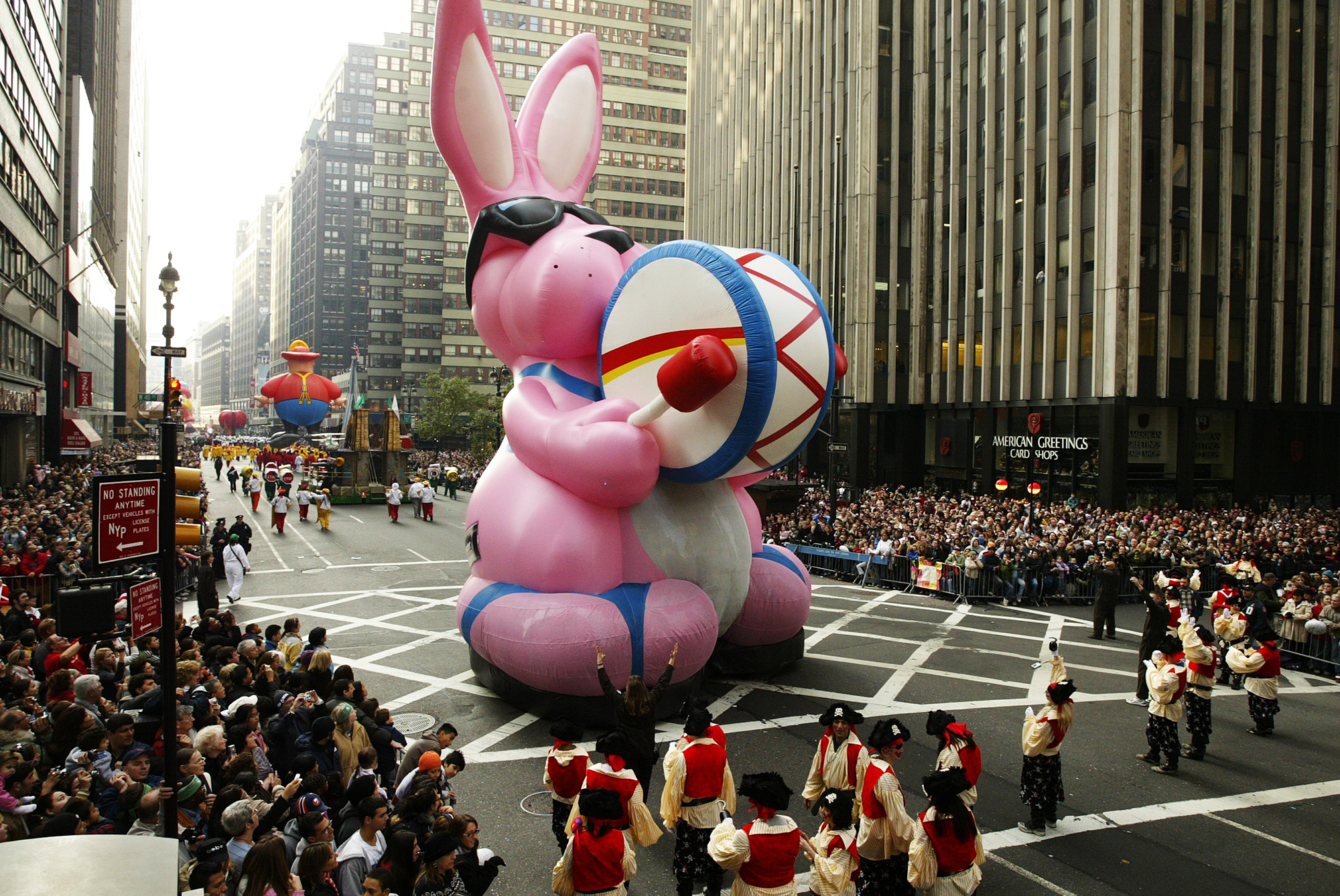The Energizer Bunny.