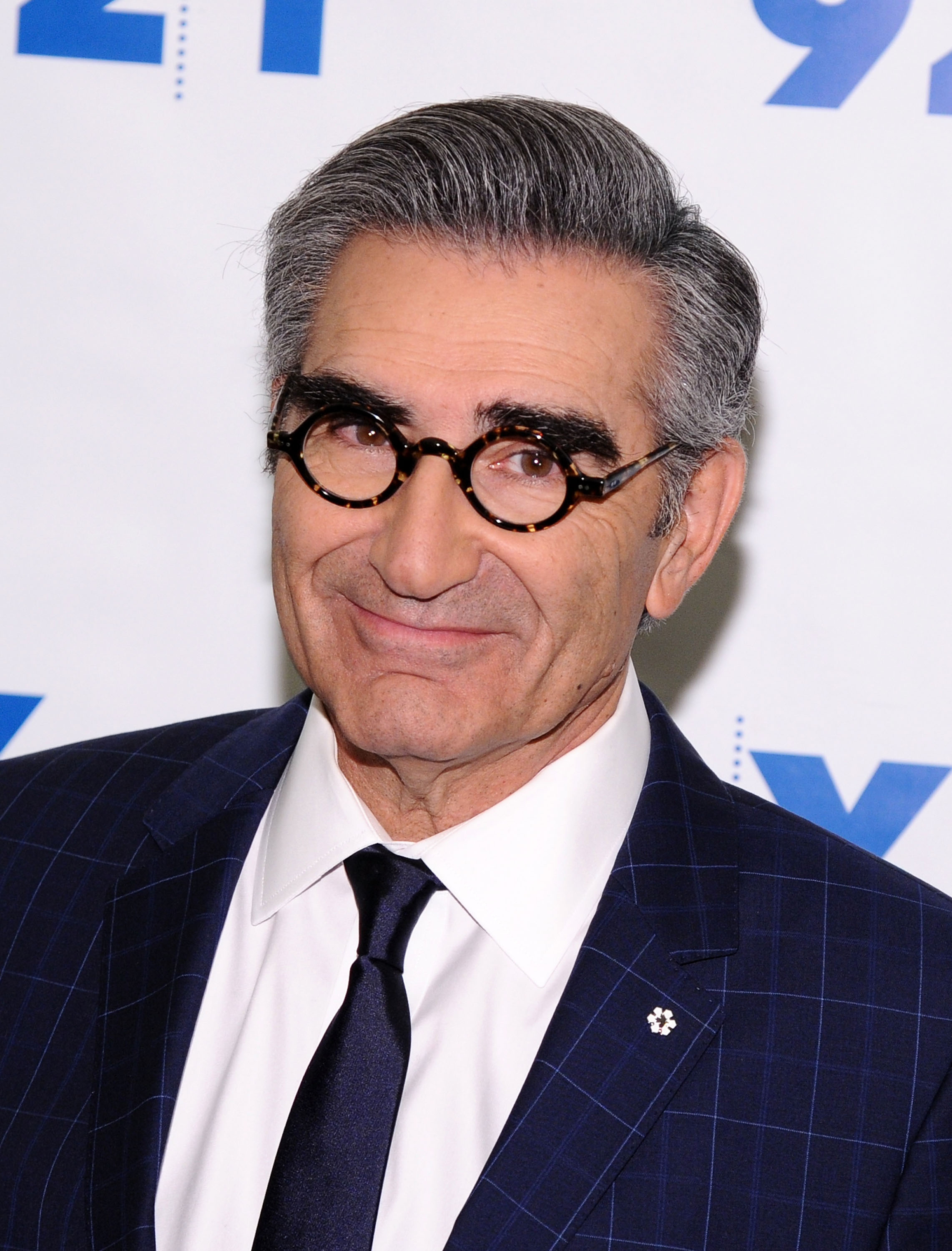 Eugene Levy attends 92nd Street Y Presents  Schitt's Creek  on March 14, 2016 in New York City.