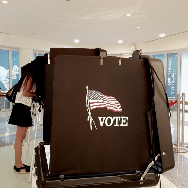 Christopher Morris (@christopher_vii), photographing from Florida as the state goes to the polls to vote in the 2016 Presidential Primaries.                                Miami Beach, Florida.