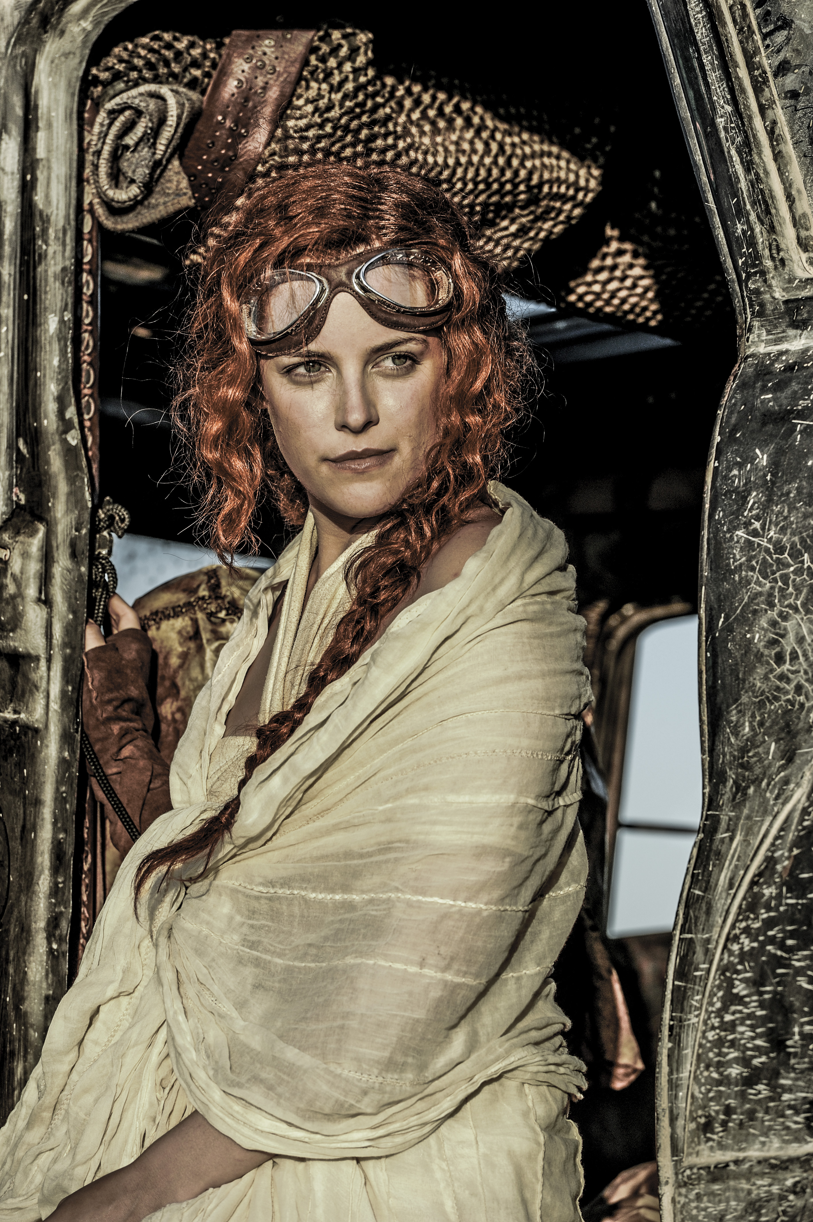 Riley Keough in Mad Max: Fury Road