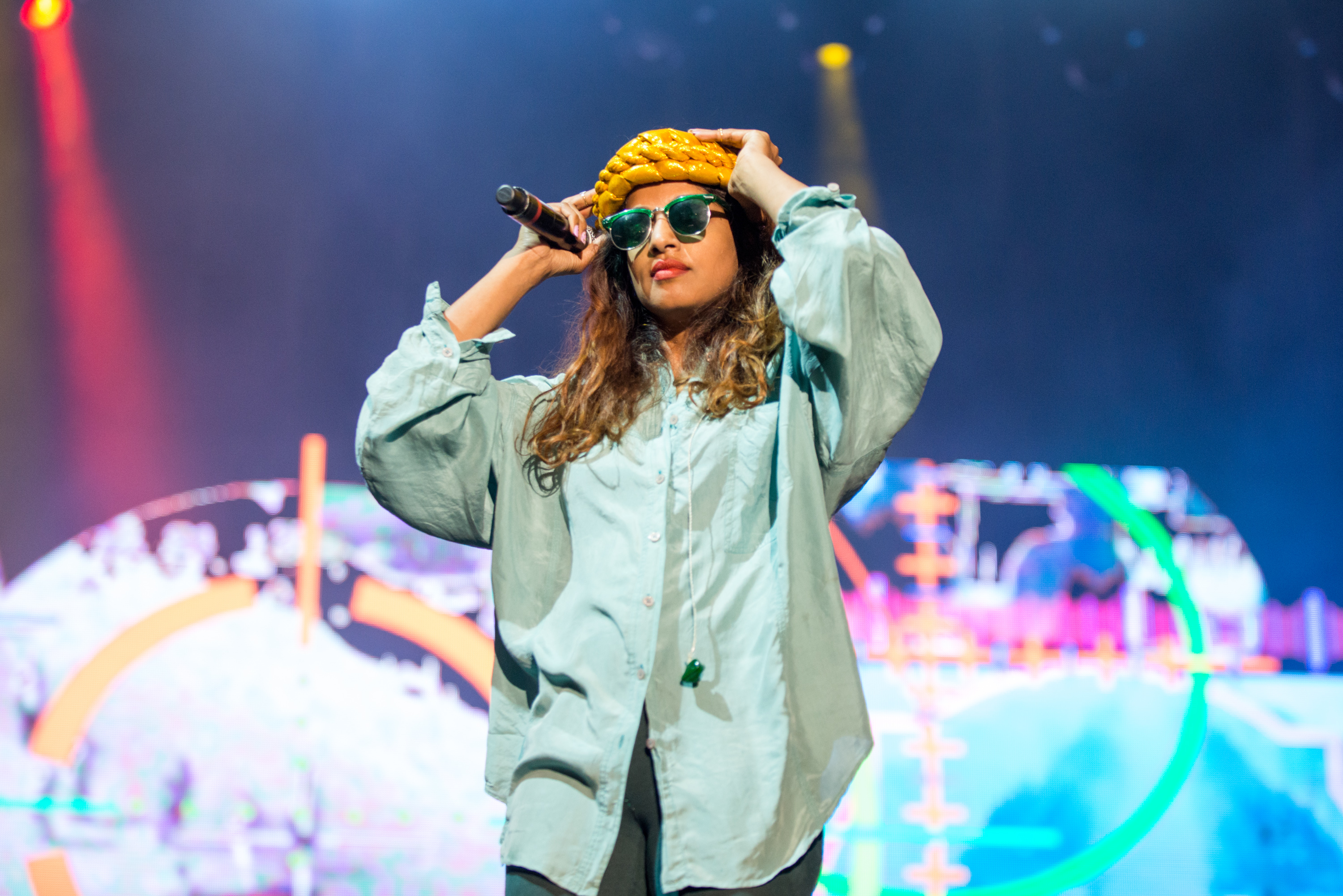 M.I.A performs on Day 4 of Benicassim Music Festival on July 20, 2014 in Benicasim, Spain.
