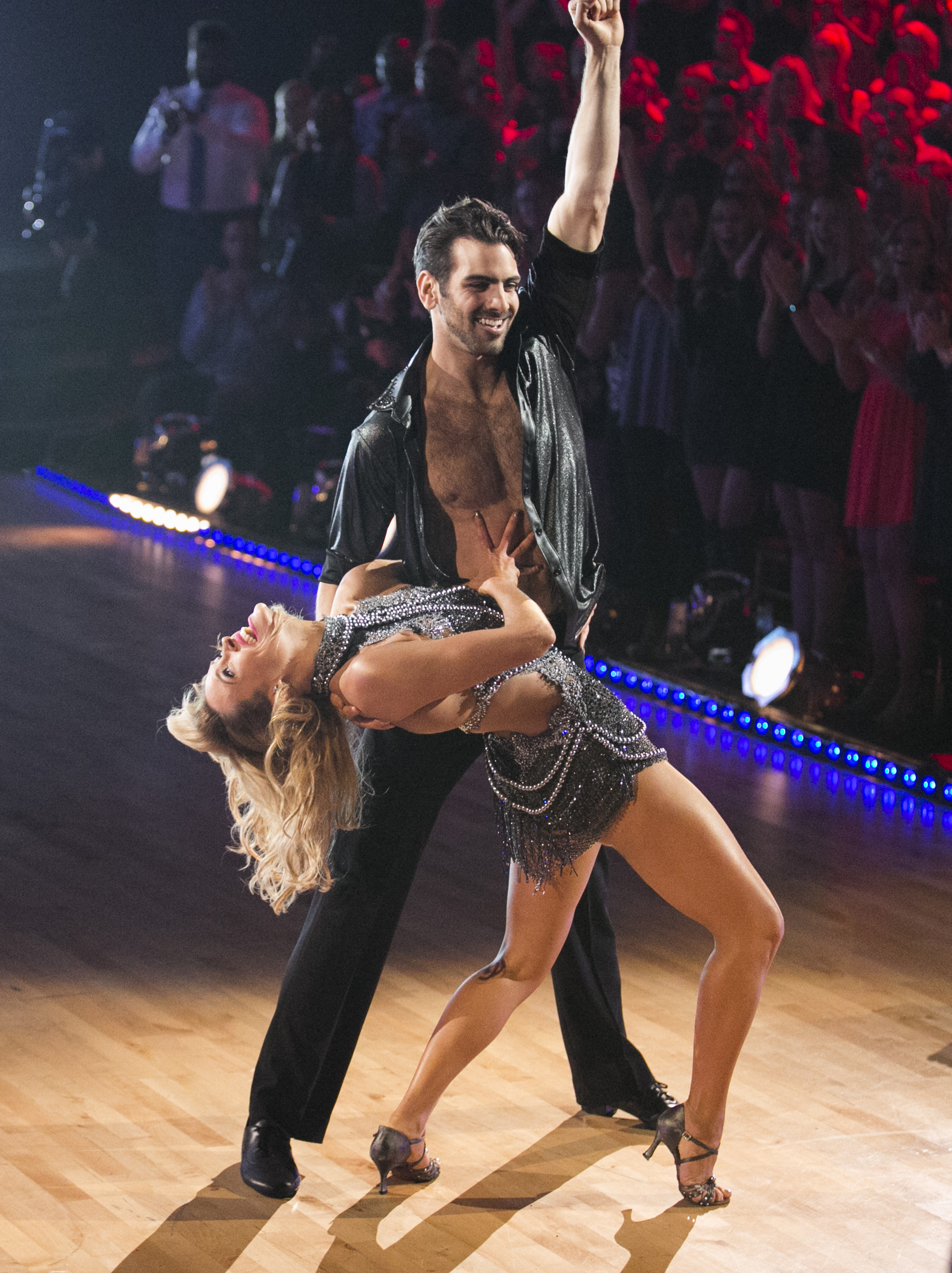 Peta Murgatroyd and Nyle DiMarco on 'Dancing With The Stars', Monday, March 21, 2016.