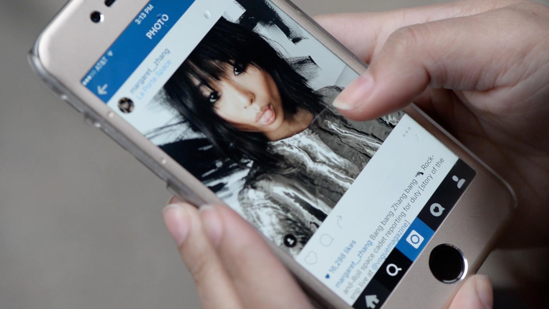 Instagram celebrity Margaret Zhang