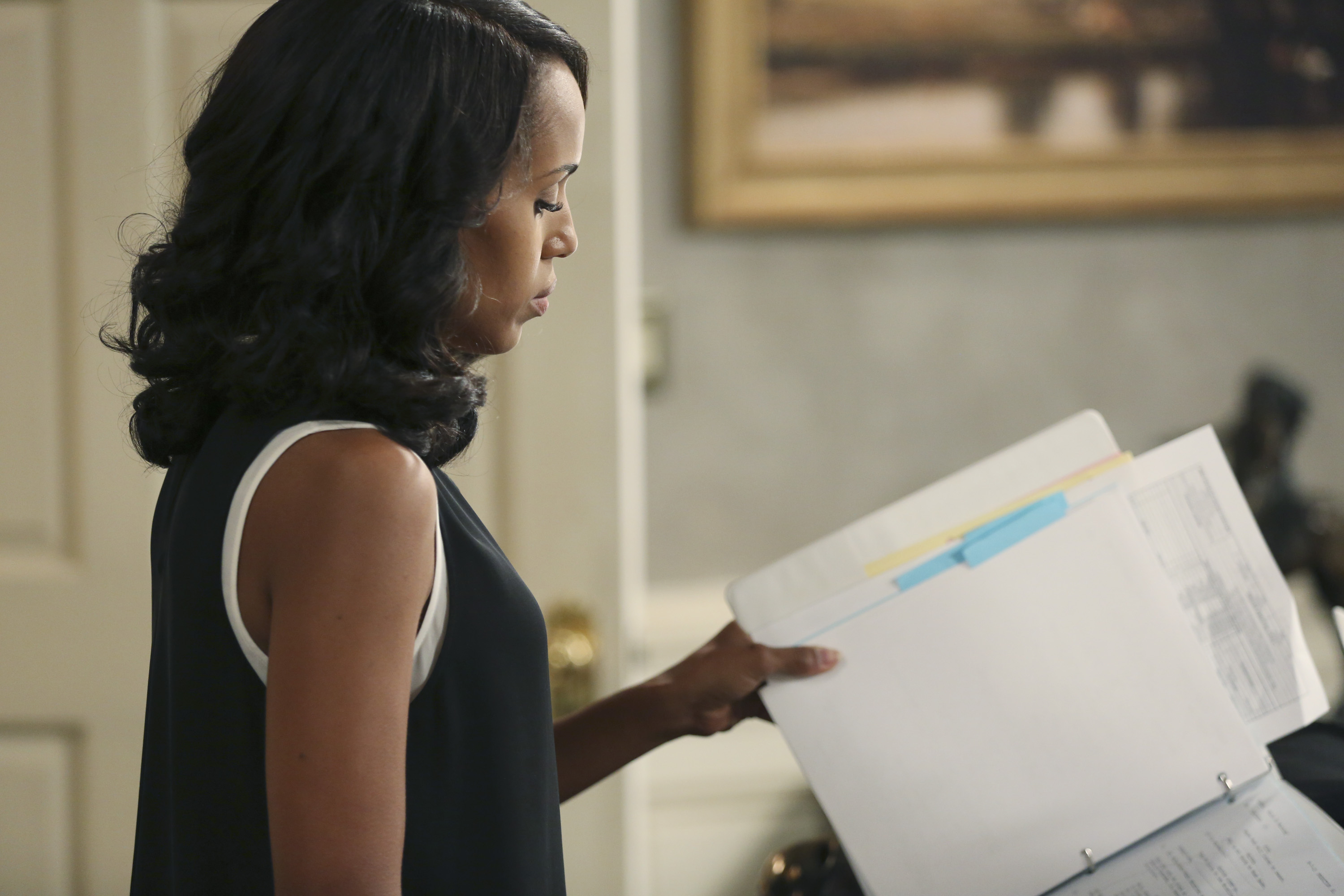 Kerry Washington in ABC's  Scandal.