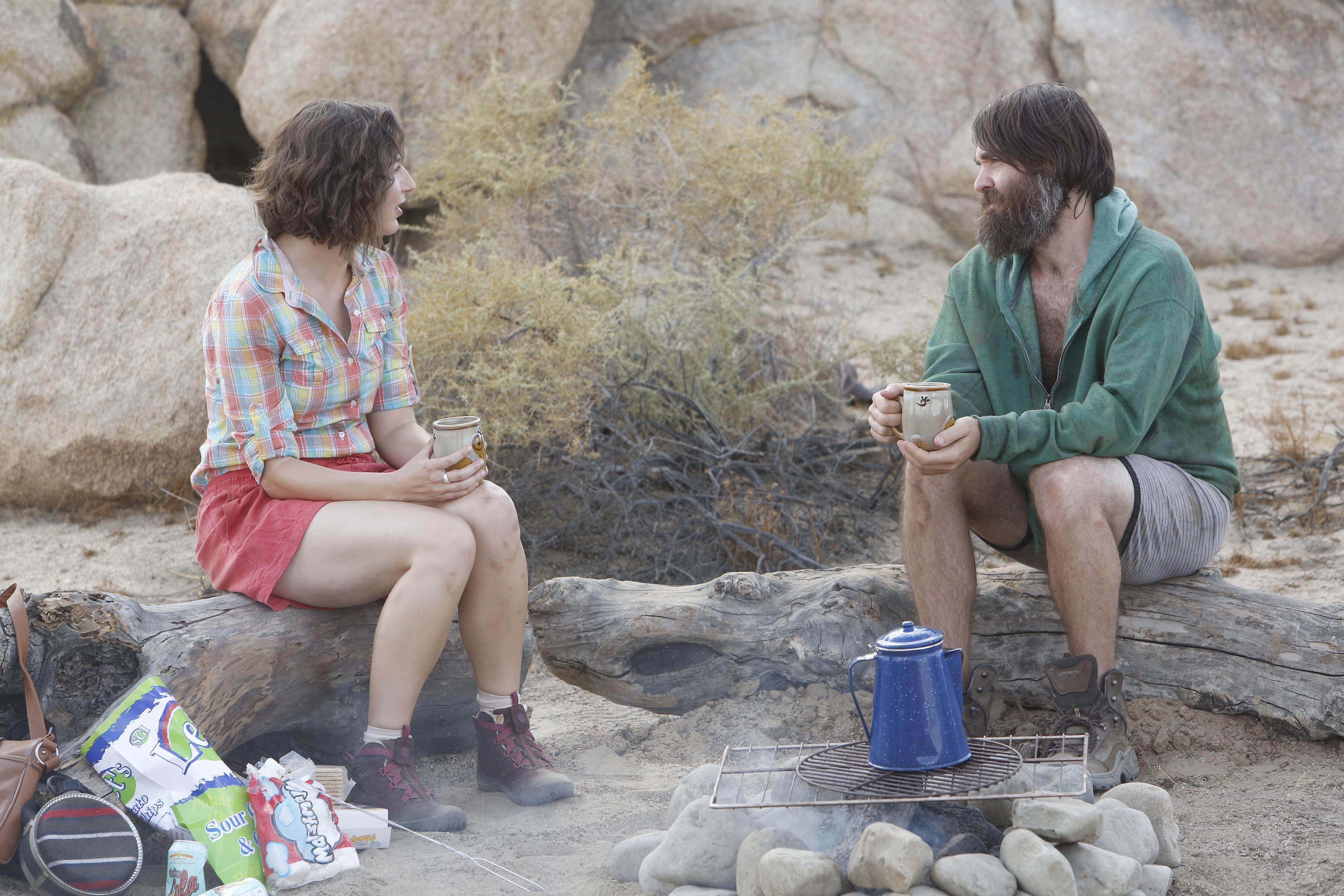Phil Miller,Will Forte, meets Carol Pilbasian, Kristen Schaal, in  The Last Man on Earth.