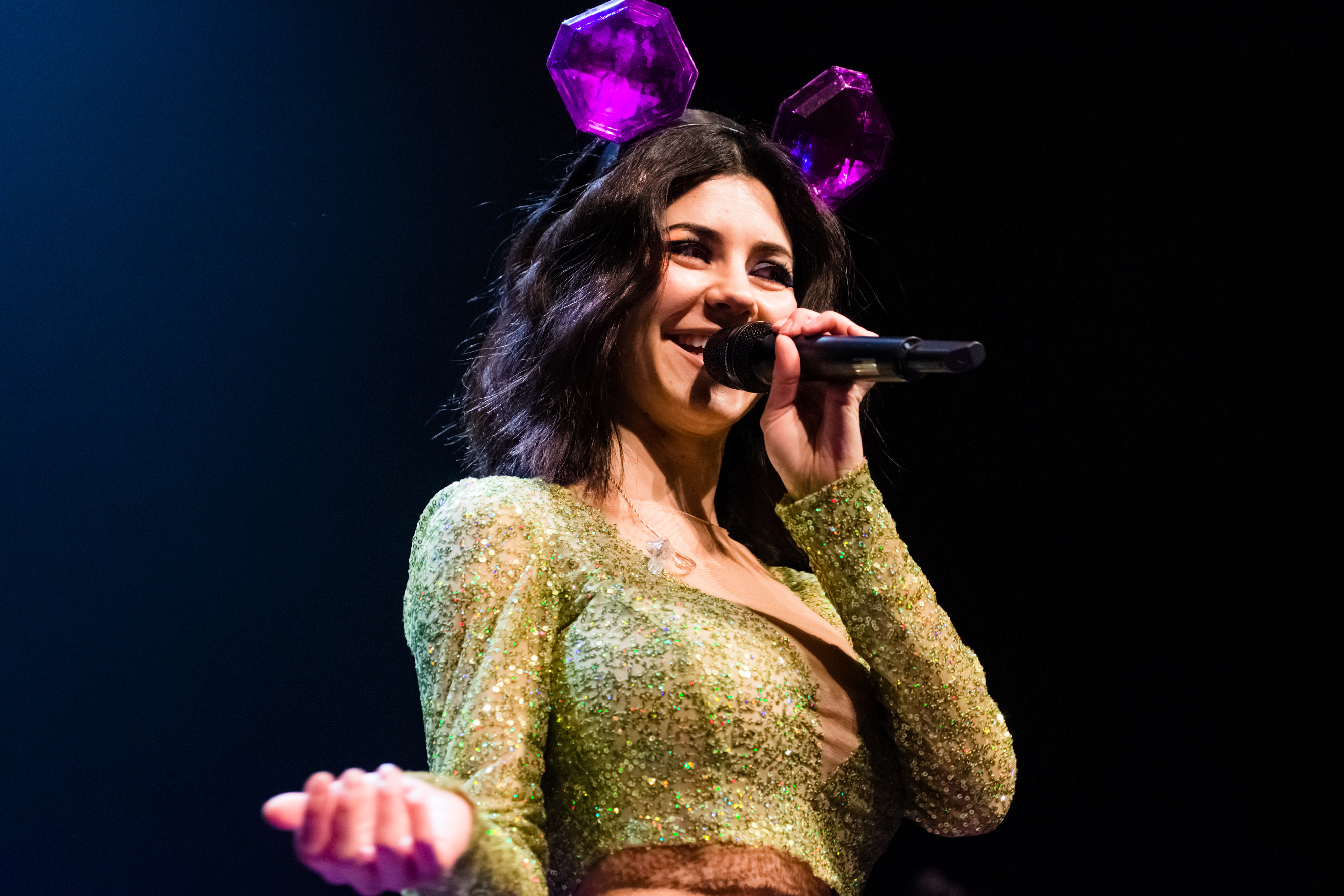 Marina and the Diamonds performs on Feb. 26, 2016 in The Hague, Netherlands.