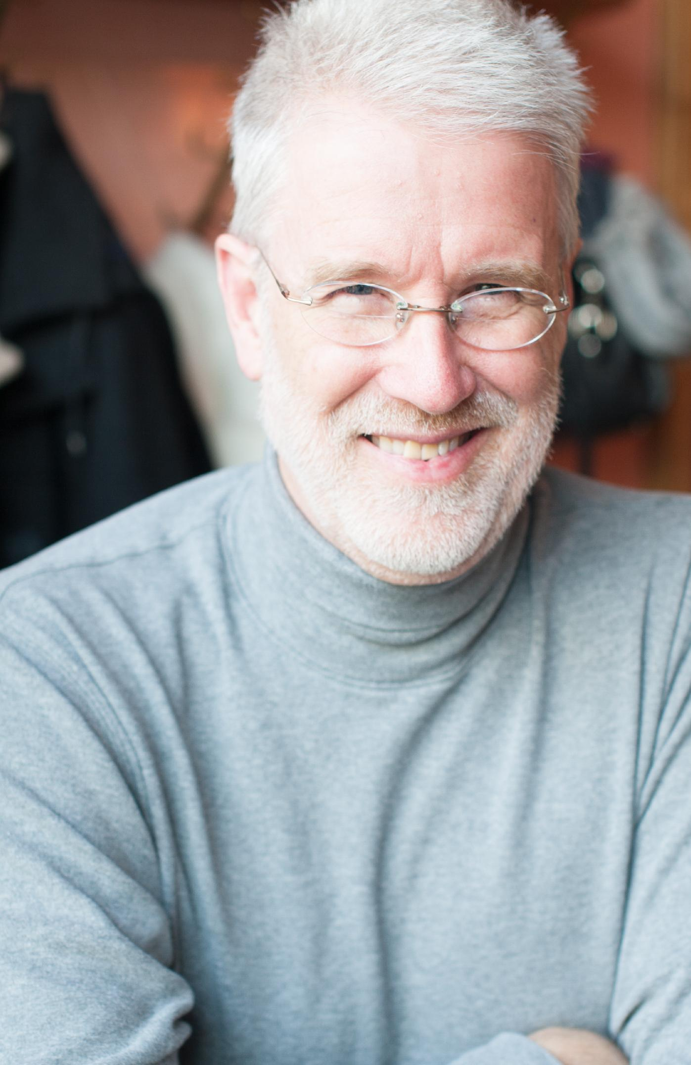 Unicode Consortium President Mark Davis (Karina Davis)