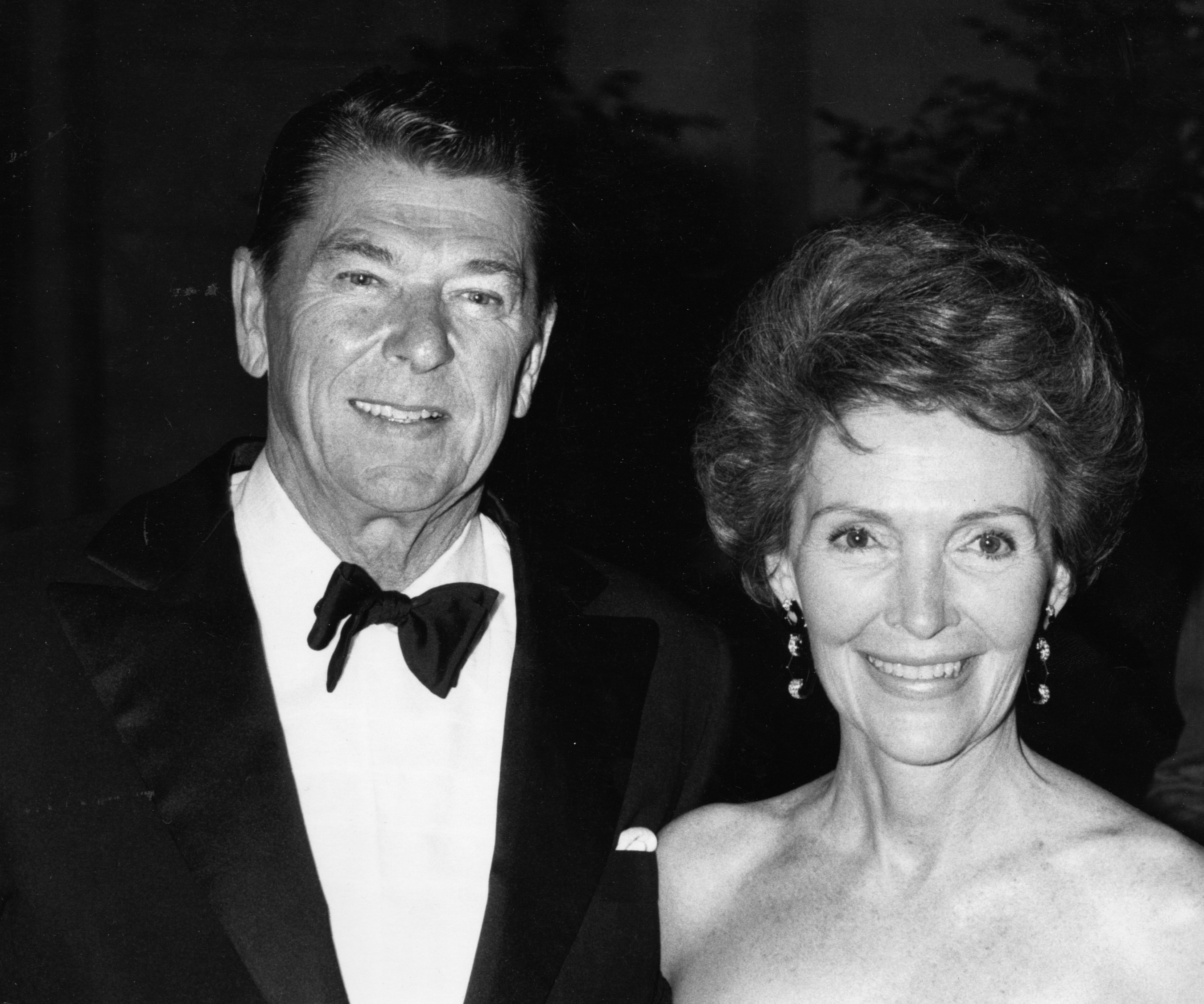Ronald Reagan and Nancy Reagan during Diana Vreeland's Opening At The MOMA at Metropolitan Museum of Art in New York City, NY, United States.