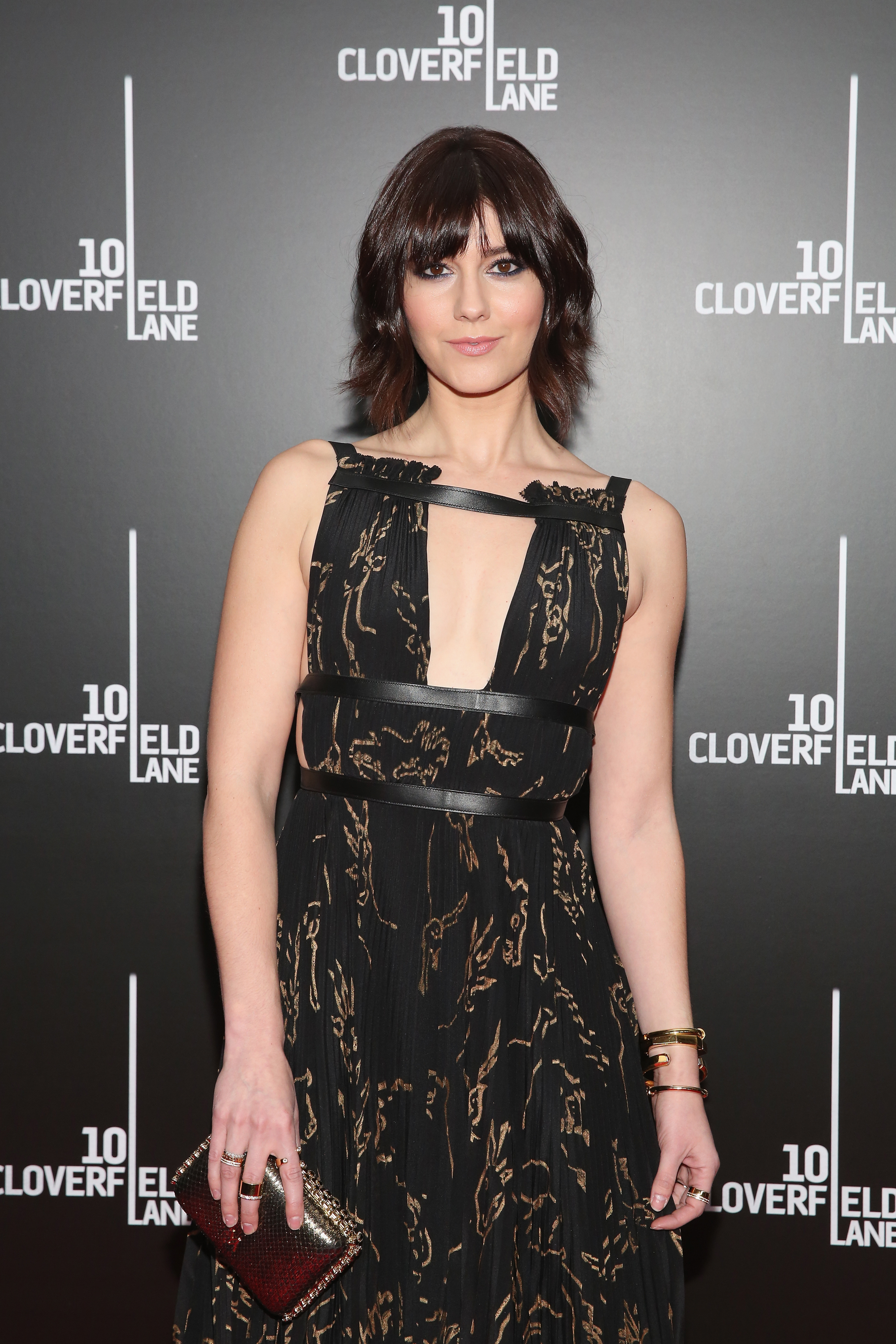 Mary Elizabeth Winstead attends the premiere of  10 Cloverfield Lane  on March 8, 2016 in New York City.