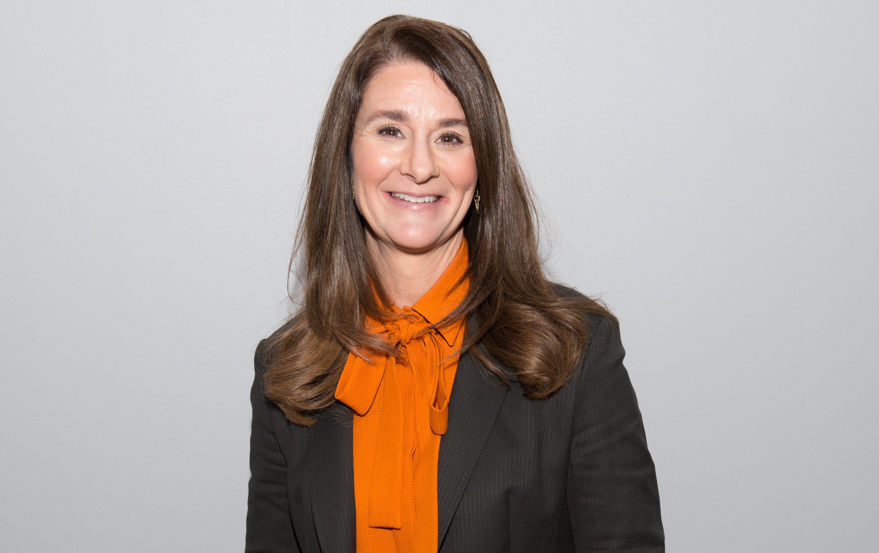 Co-chair of the Bill and Melinda Gates Foundation Melinda Gates attends the AOL BUILD Speaker Series at AOL Studios In New York on March 10, 2015 in New York City.